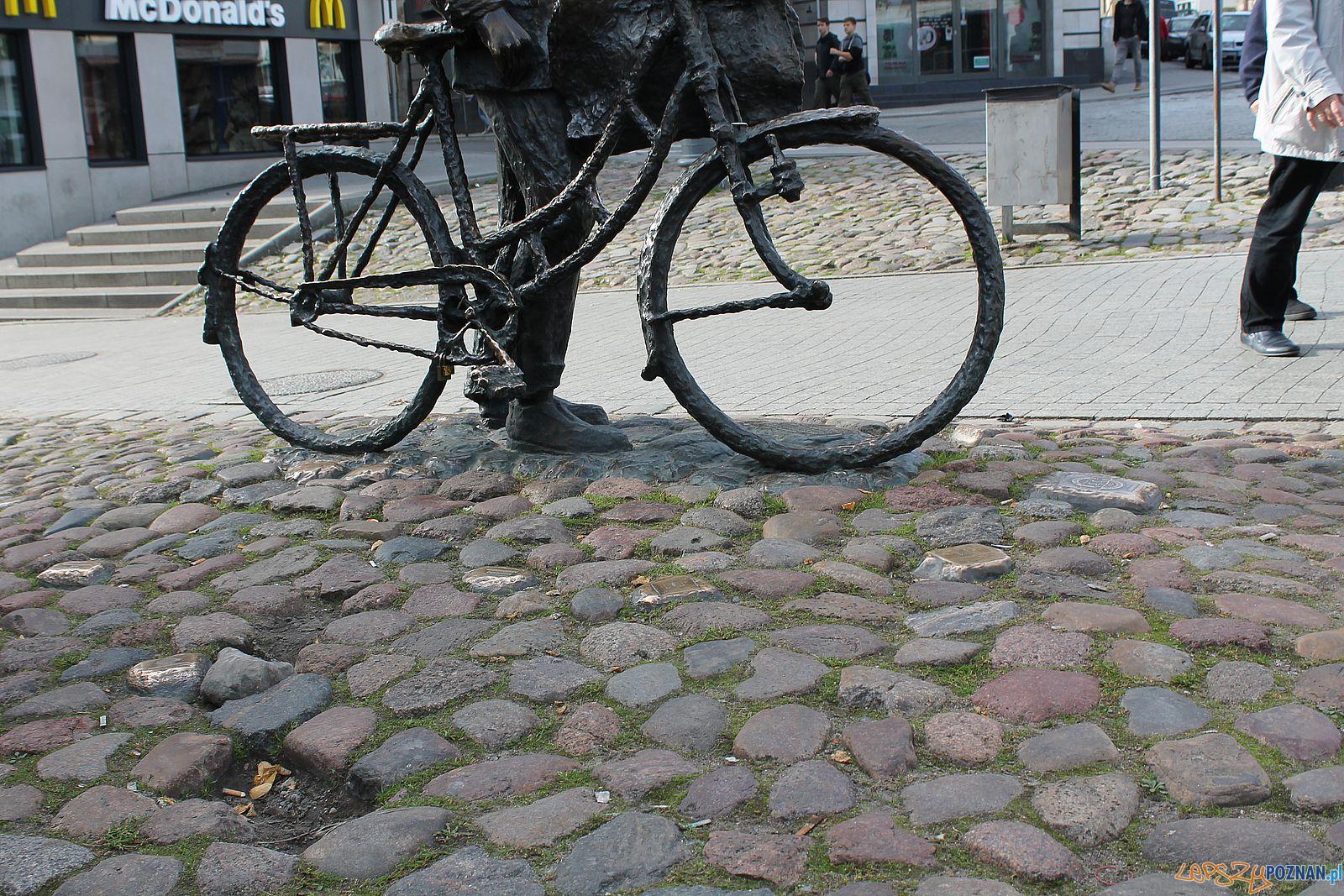 Stary Marych nieporządek wokól pomnika (1)  Foto: T. Dworek / ROSM