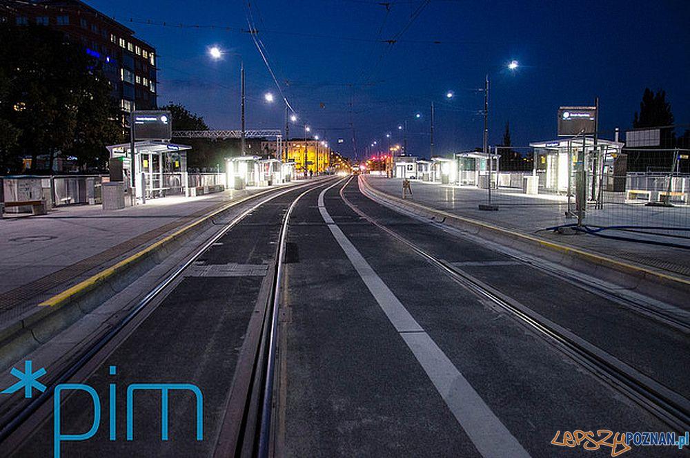 Roosevelta-Kaponiera nocą  Foto: PIM