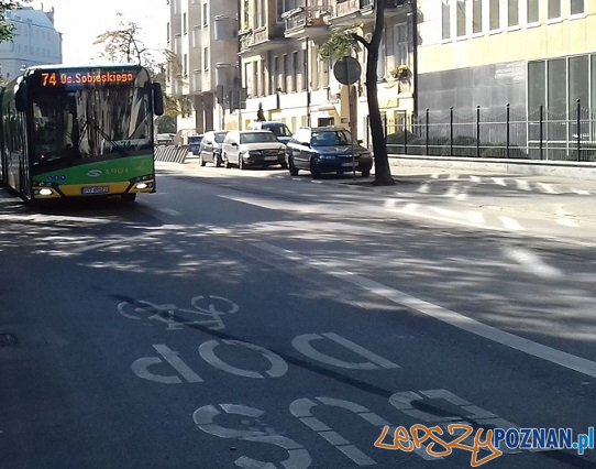 Buspas na Mostowej  Foto: ZDM