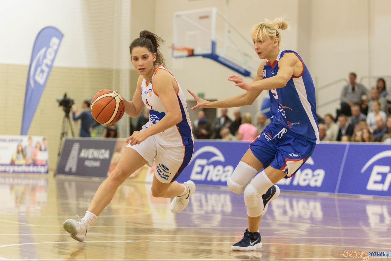 Basket Liga Kobiet: Enea AZS Poznań - PGE MKK Siedlce 85:64  -  Foto: LepszyPOZNAN.pl / Paweł Rychter