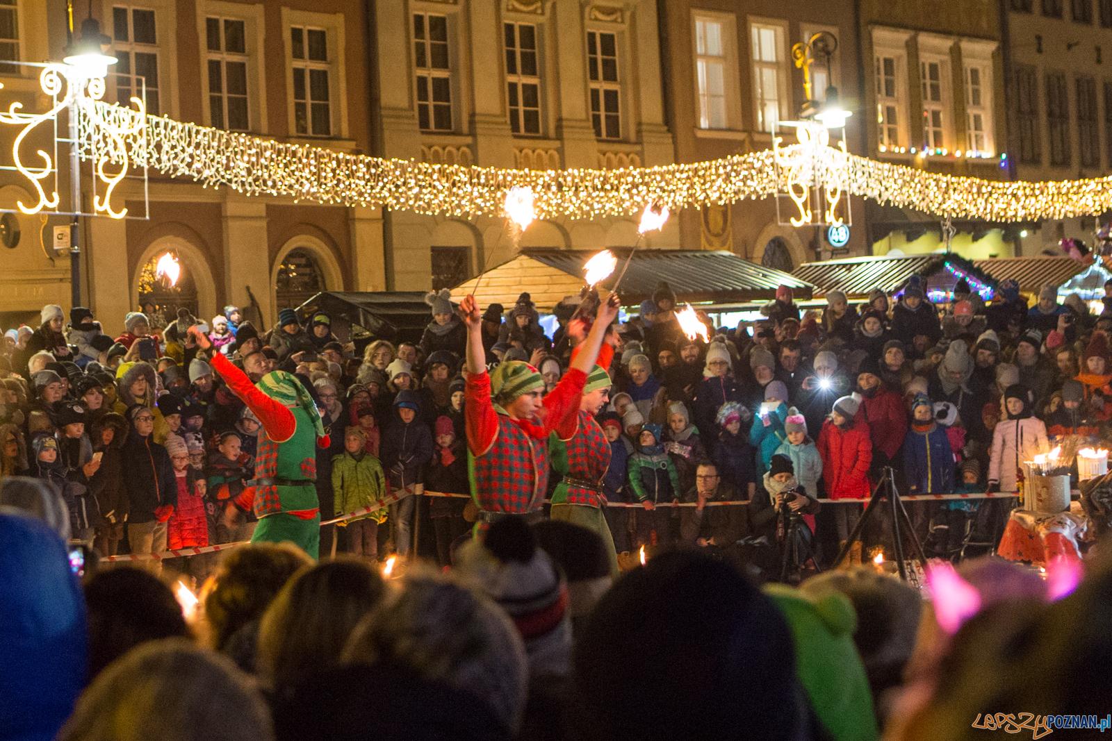 Betlejem Poznańskie: Mikołajkowy pokaz ogniowy - Poznań 03.12  Foto: LepszyPOZNAN.pl / Paweł Rychter
