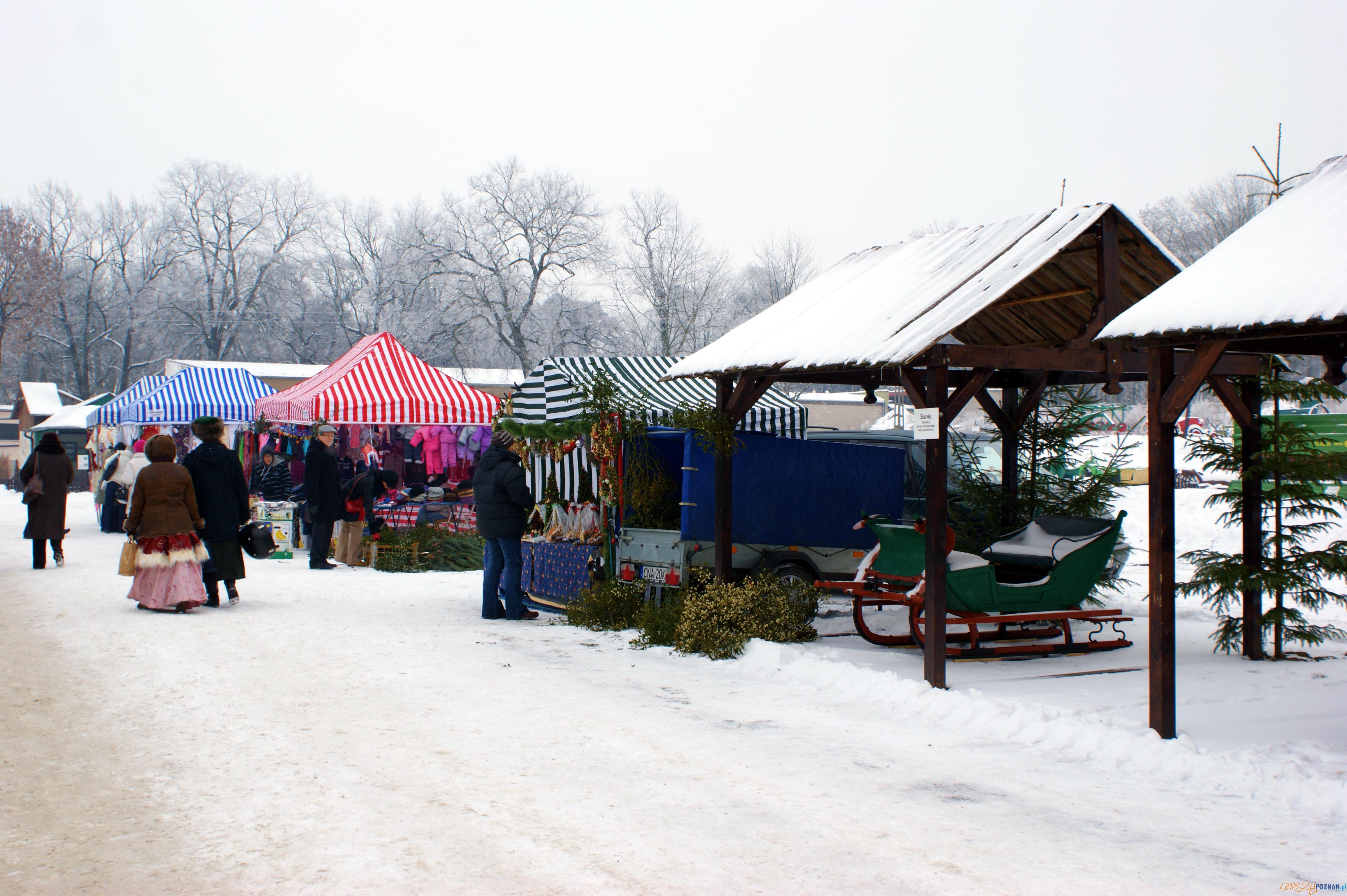 Jarmark bożonarodzeniowy w Szreniawie  Foto: Muzeum Rolnictwa w Szreniawie