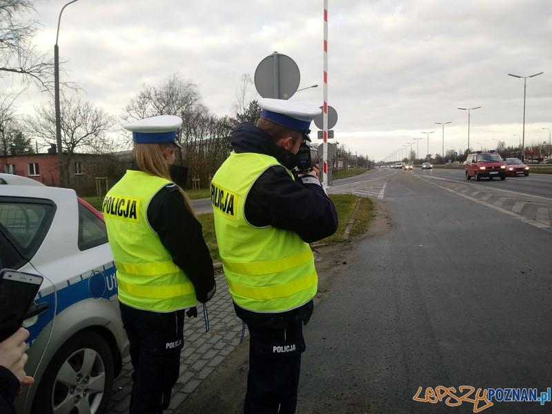 Kontrola prędkości  Foto: KWP w Poznaniu
