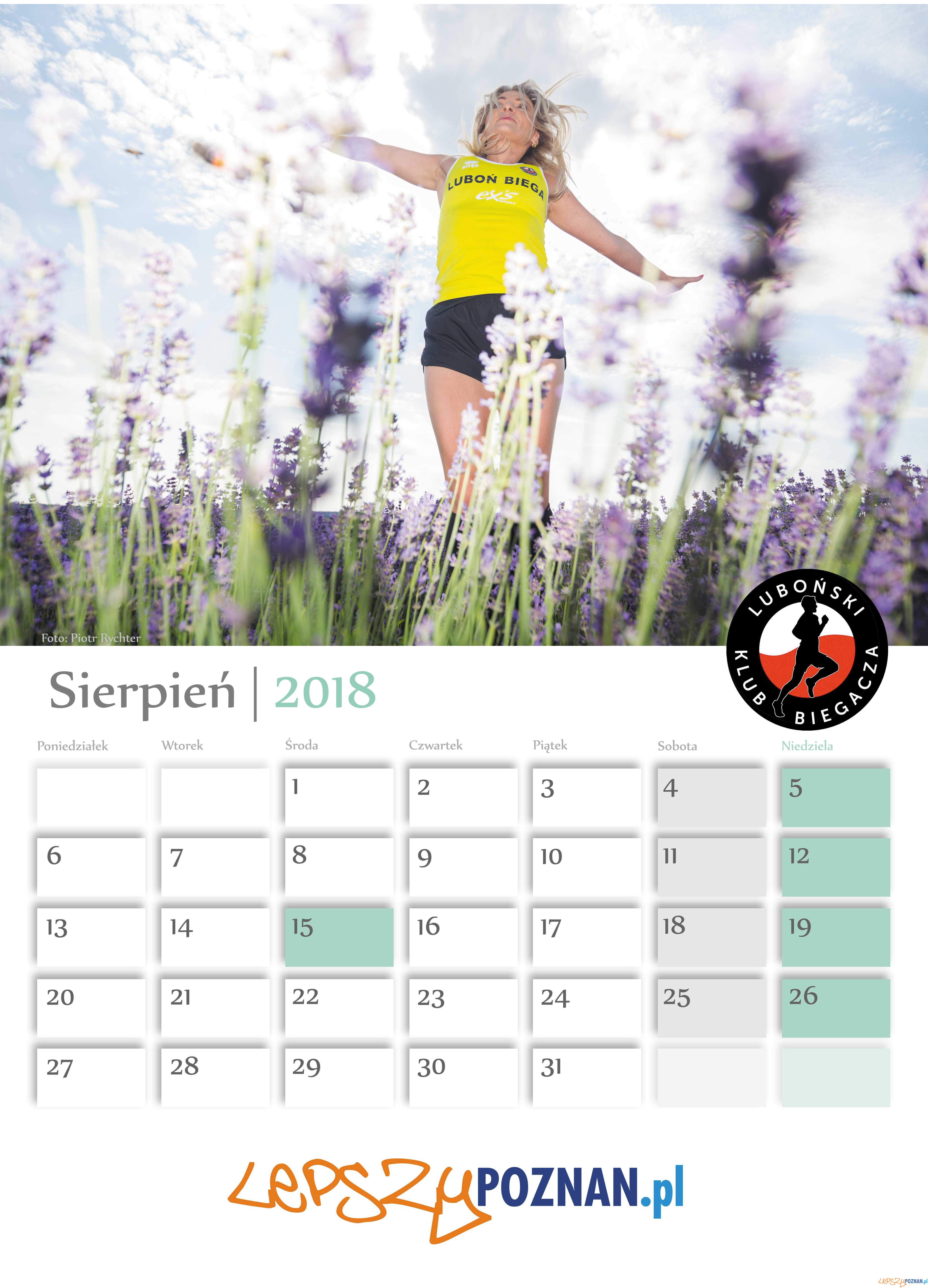 Kalendarz Biegaczek  Foto: Ewelina Jaśkowiak, Piotr Rychter / Kalendarz Biegaczek