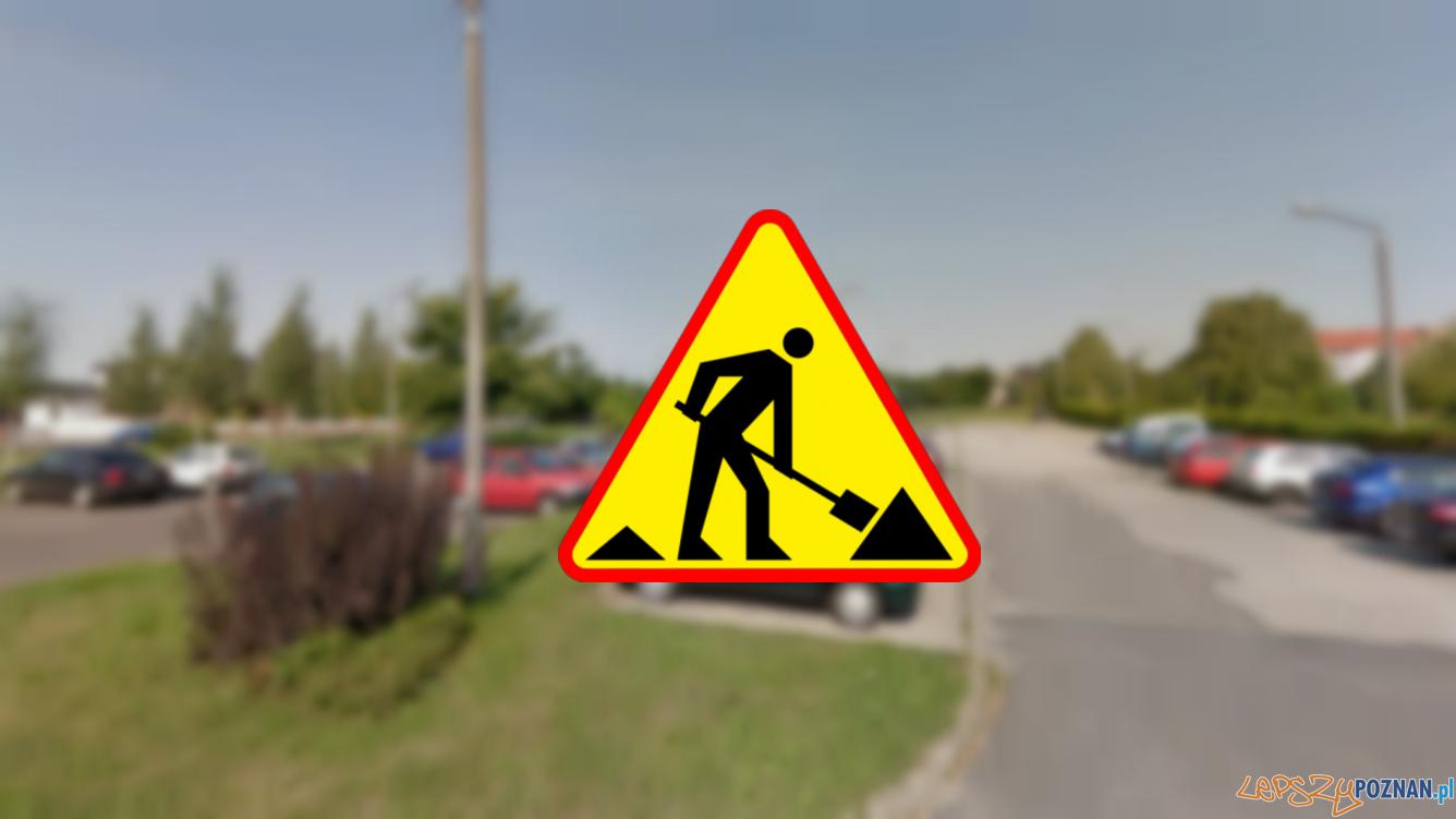 Remont parkingu  Foto: Google Street View