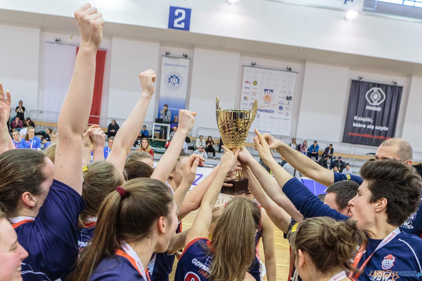 MP U22 - wręczenie pucharów finalisom turnieju - Poznań 25.02  Foto: LepszyPOZNAN.pl / Paweł Rychter