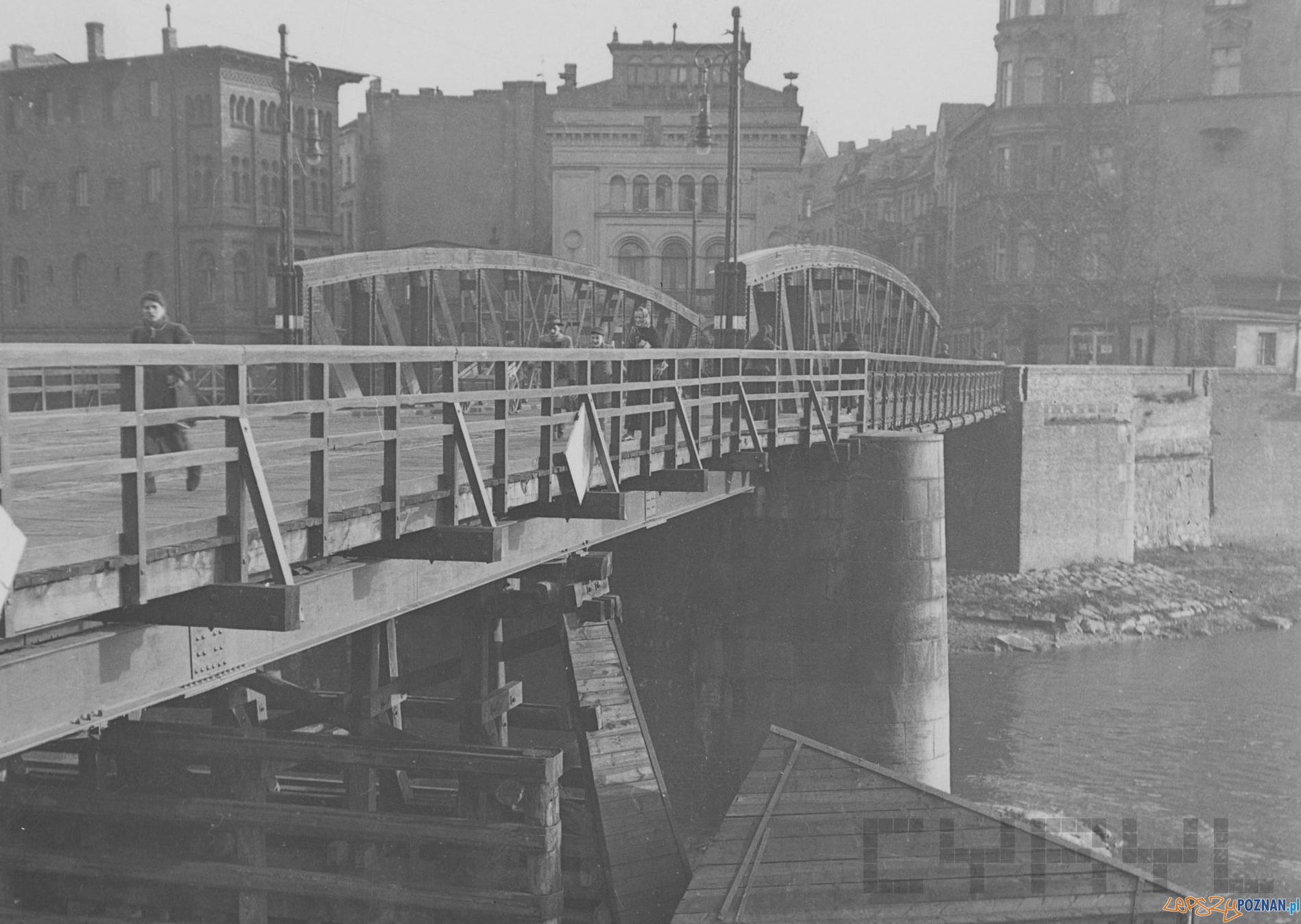 Most Chwaliszewski okres po 1940 r.  Foto: MKZ / Cyryl