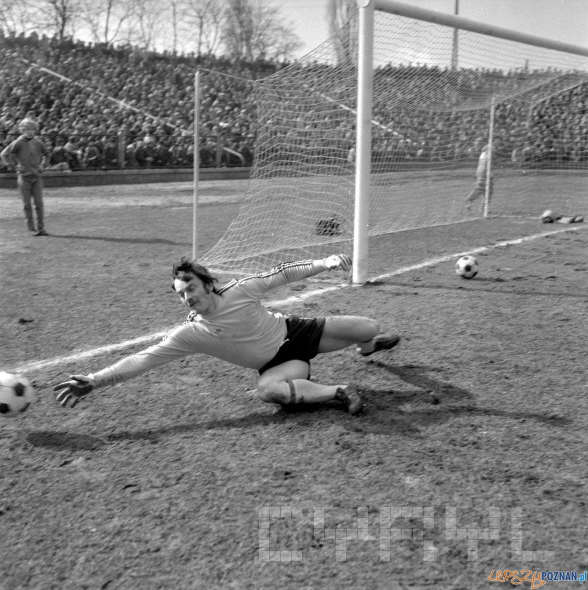 Debiec stadion Lech Poznan Stal Mielec 12.03.1978 S.Wiktor Cyryl (5)  Foto: Stanisław Wiktor / Cyryl