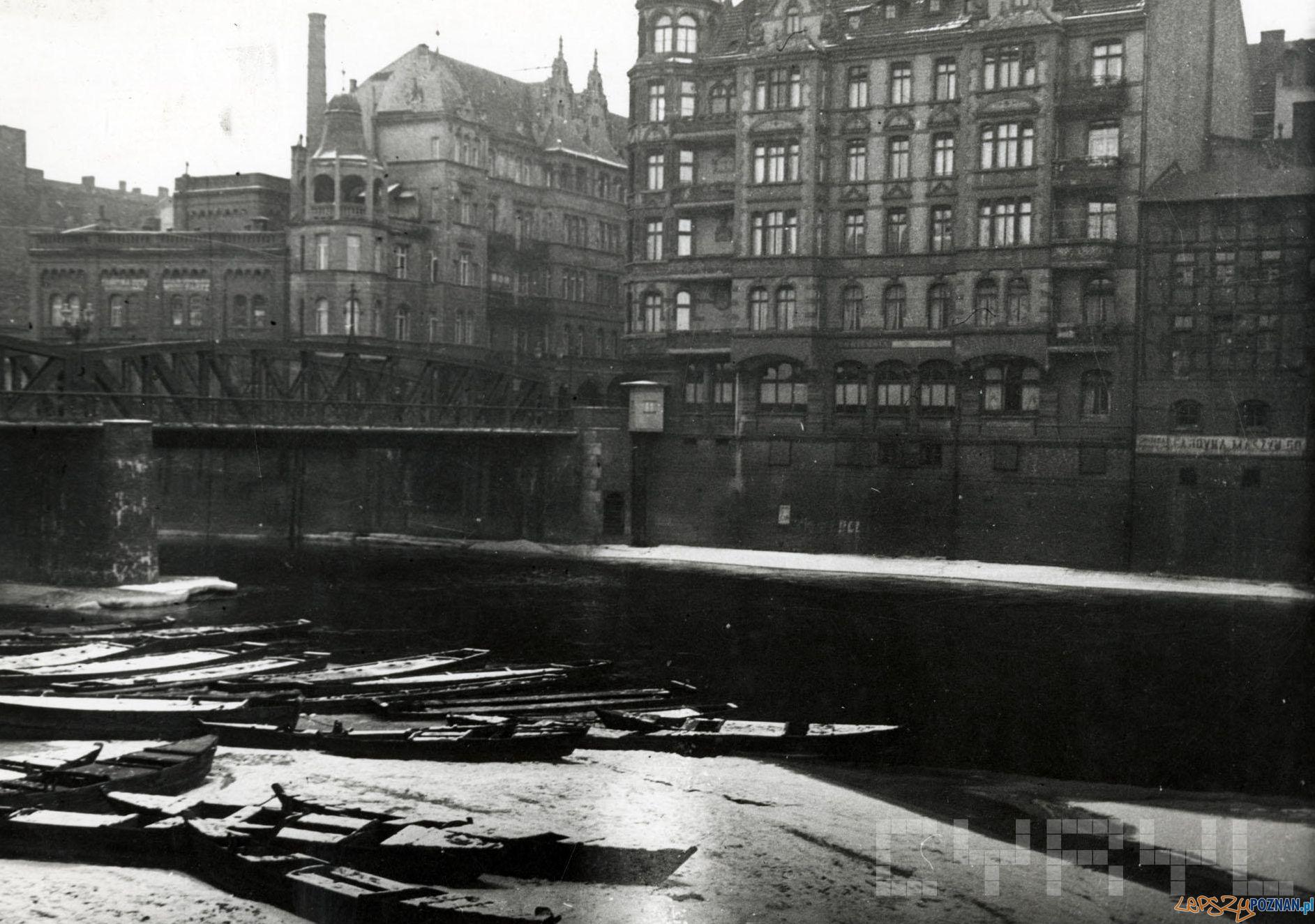 Most Chwaliszewski przed 1939  Foto: Kolekcja Jana Kaczmarka / Cyryl