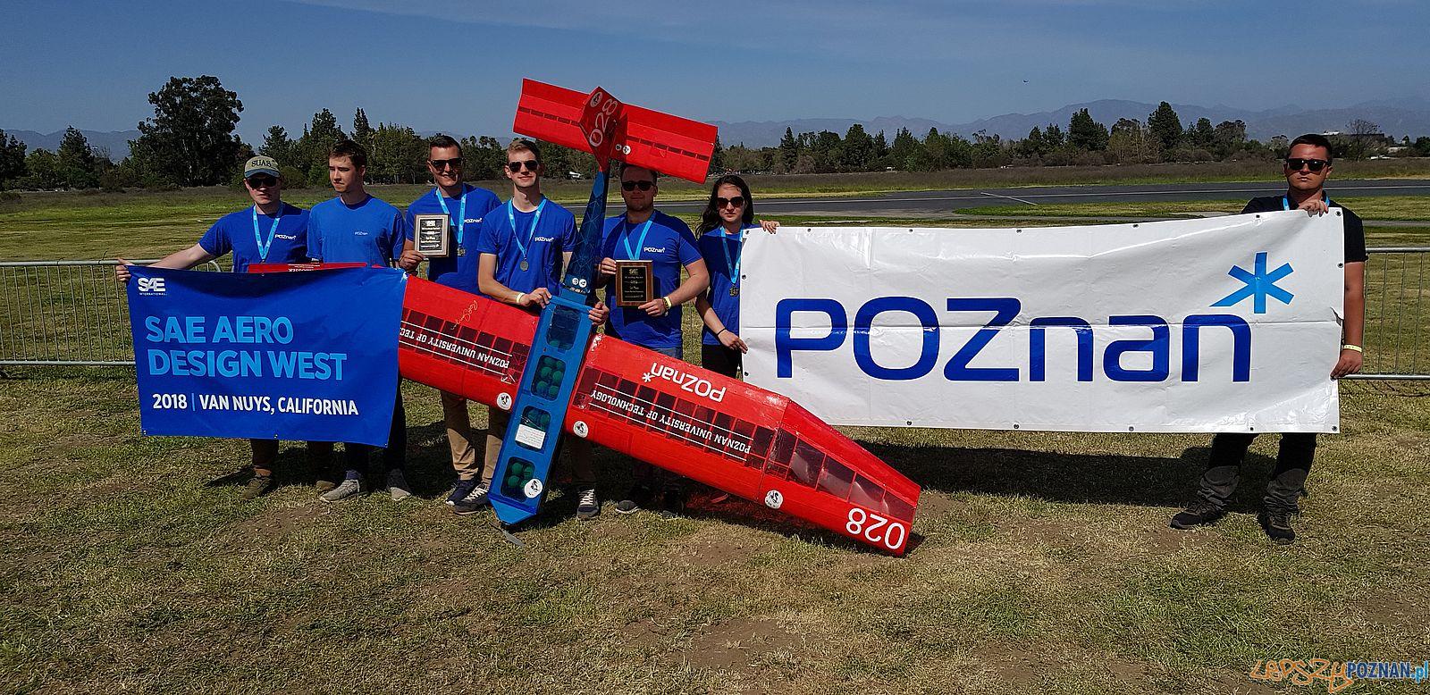 Aero Design - zlote medale studentów Politechniki (2)  Foto: materiały prasowe