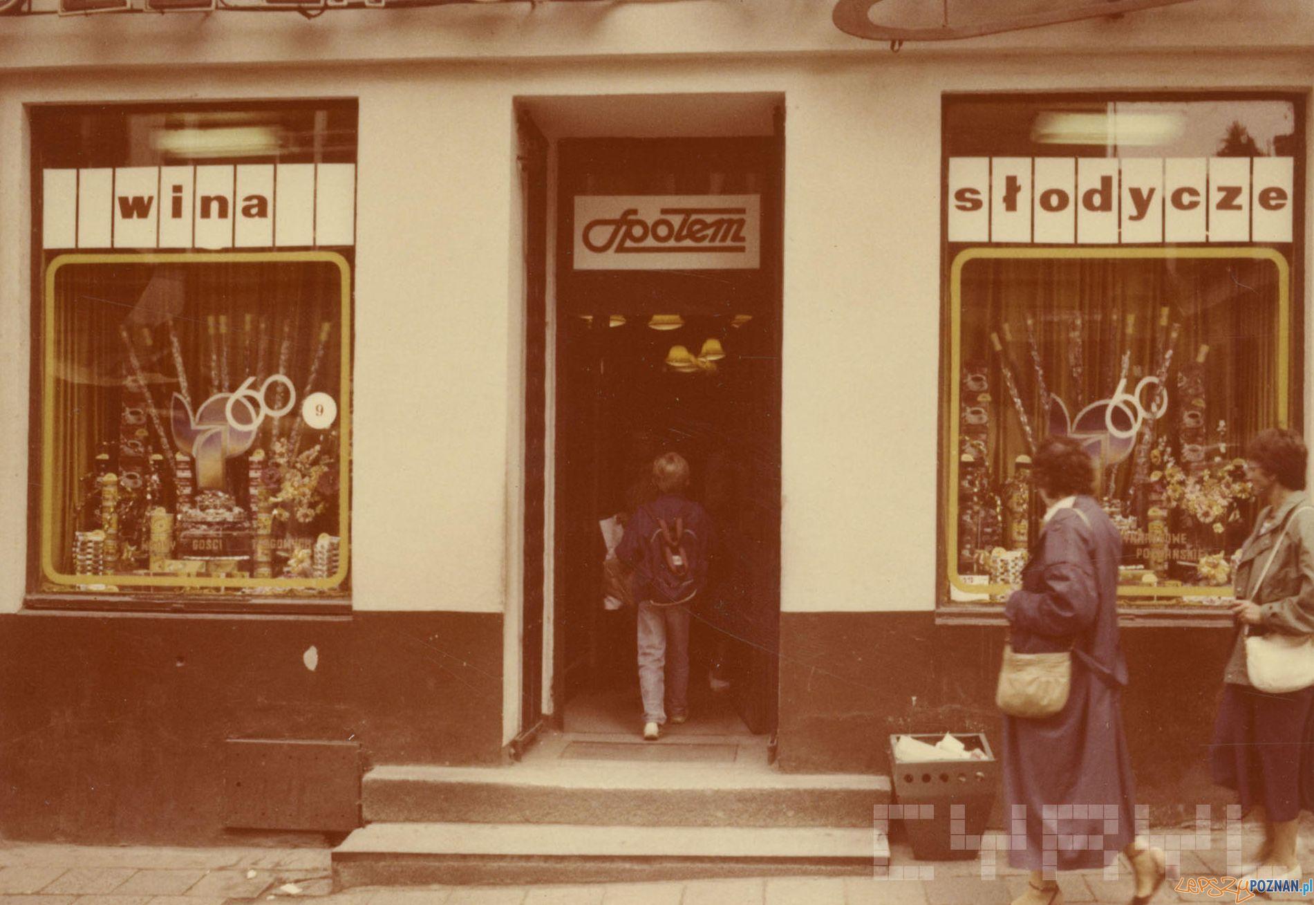 Cukierniczy - Wedel -  ul. Paderewskiego - 1989 r.  Foto: PSS Społem / Cyryl