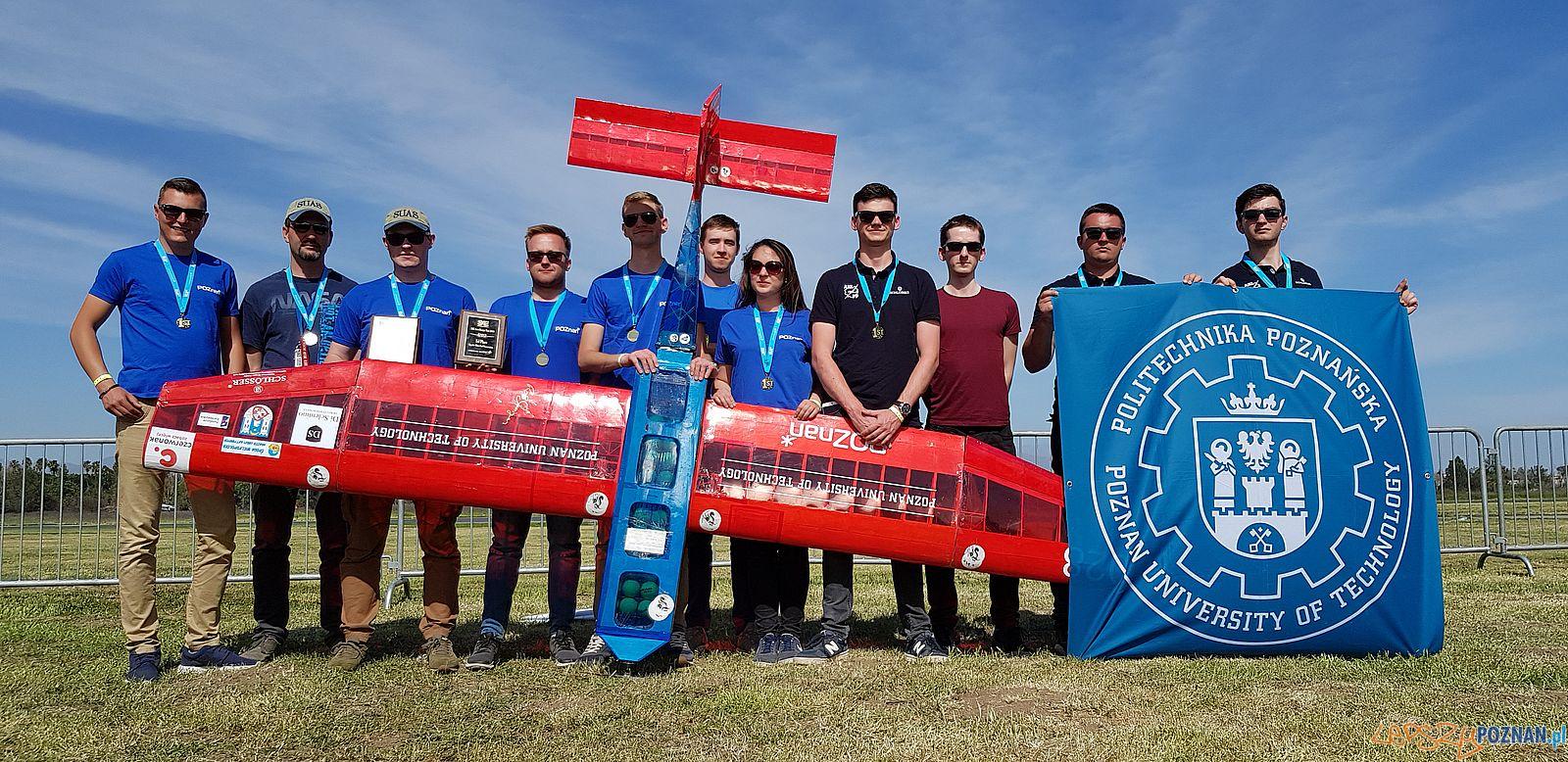 Aero Design - zlote medale studentów Politechniki (1)  Foto: materiały prasowe