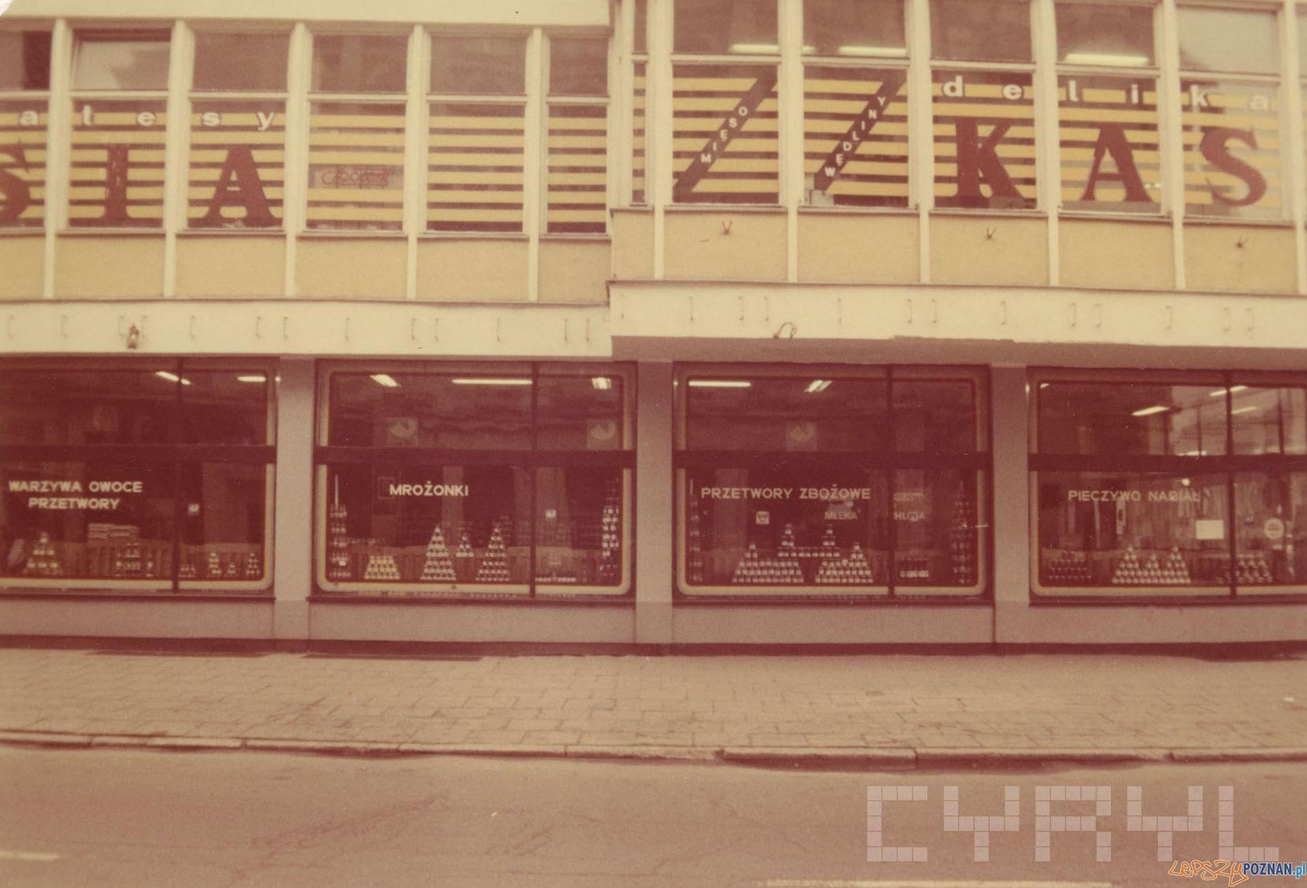 Delikatesy Kasia - 27 Grudnia - 1989 r.  Foto: PSS Społem / Cyryl