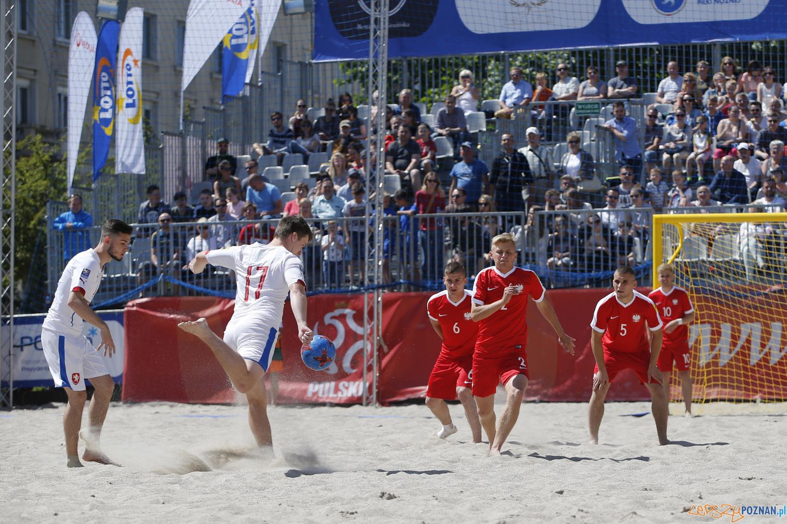 Plaża Wolności - piłka nożna plażowa  Foto: Jakub Piasecki / materiały prasowe