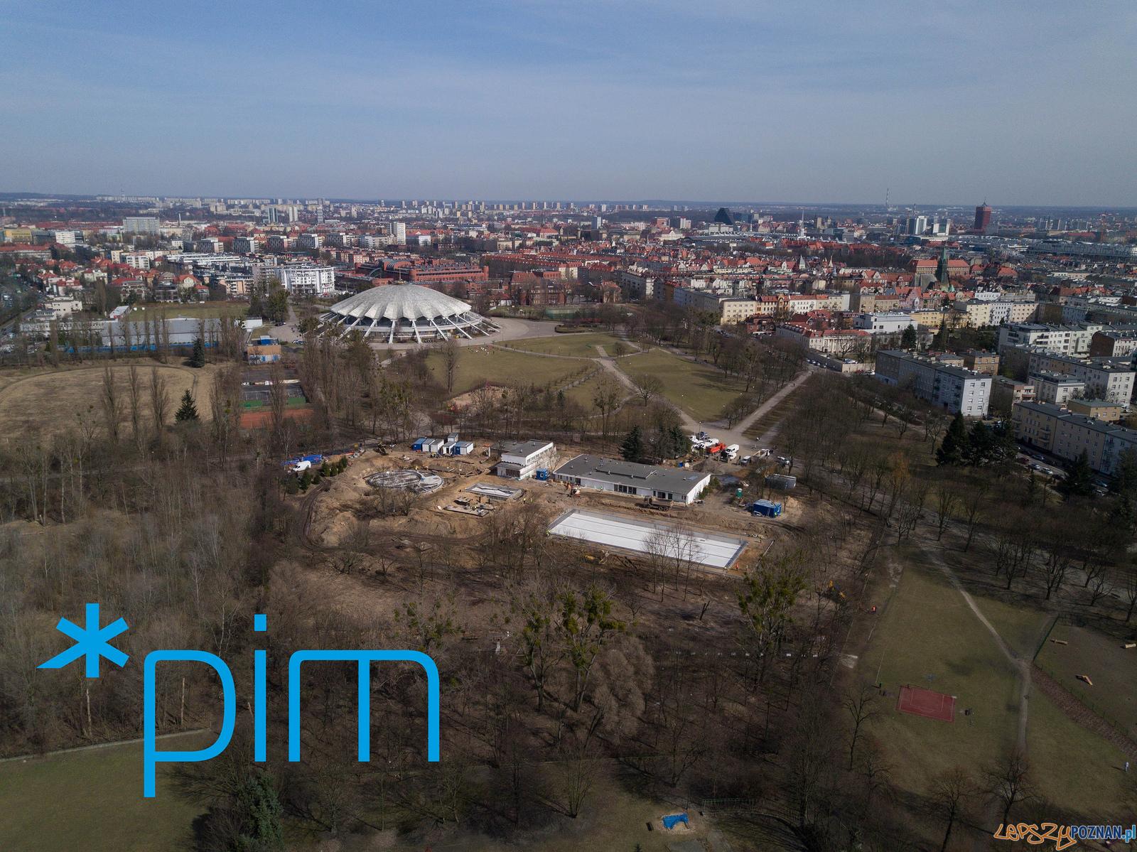 Budowa pływalni w Parku Kasprowicza  Foto: Poznańskie Inwestycje Miejskie