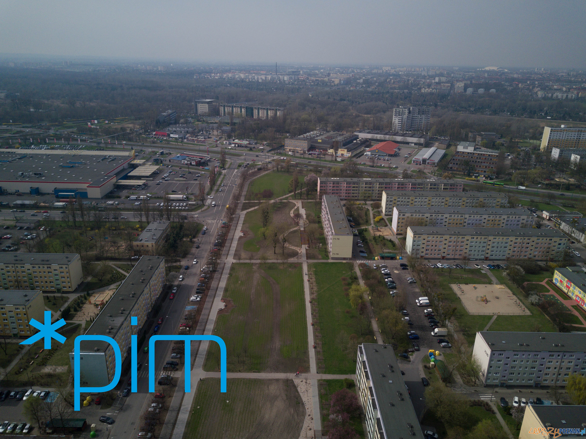 Park Rataje - maj 2018  Foto: Poznańskie Inwestycje Miejskie