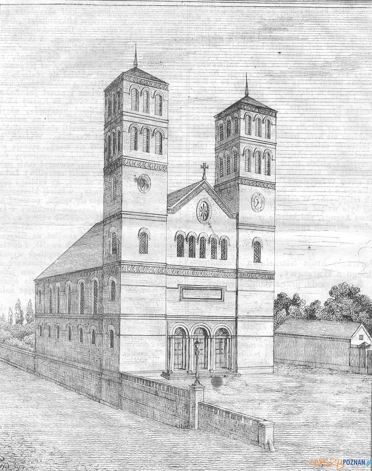 Kosciol Sw Piotra Pl. Wiosny Ludow 1841  Foto: Przyjaciel Ludu / Leszno / wikipedoia