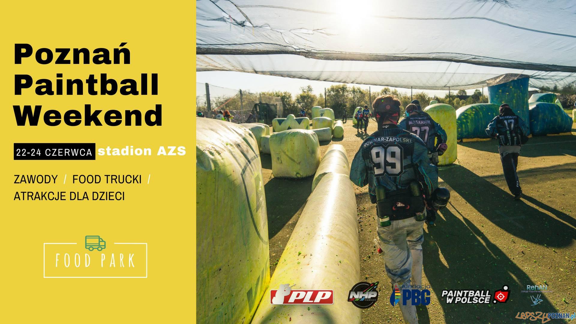 Poznań Paintball Weekend  Foto: materiały prasowe