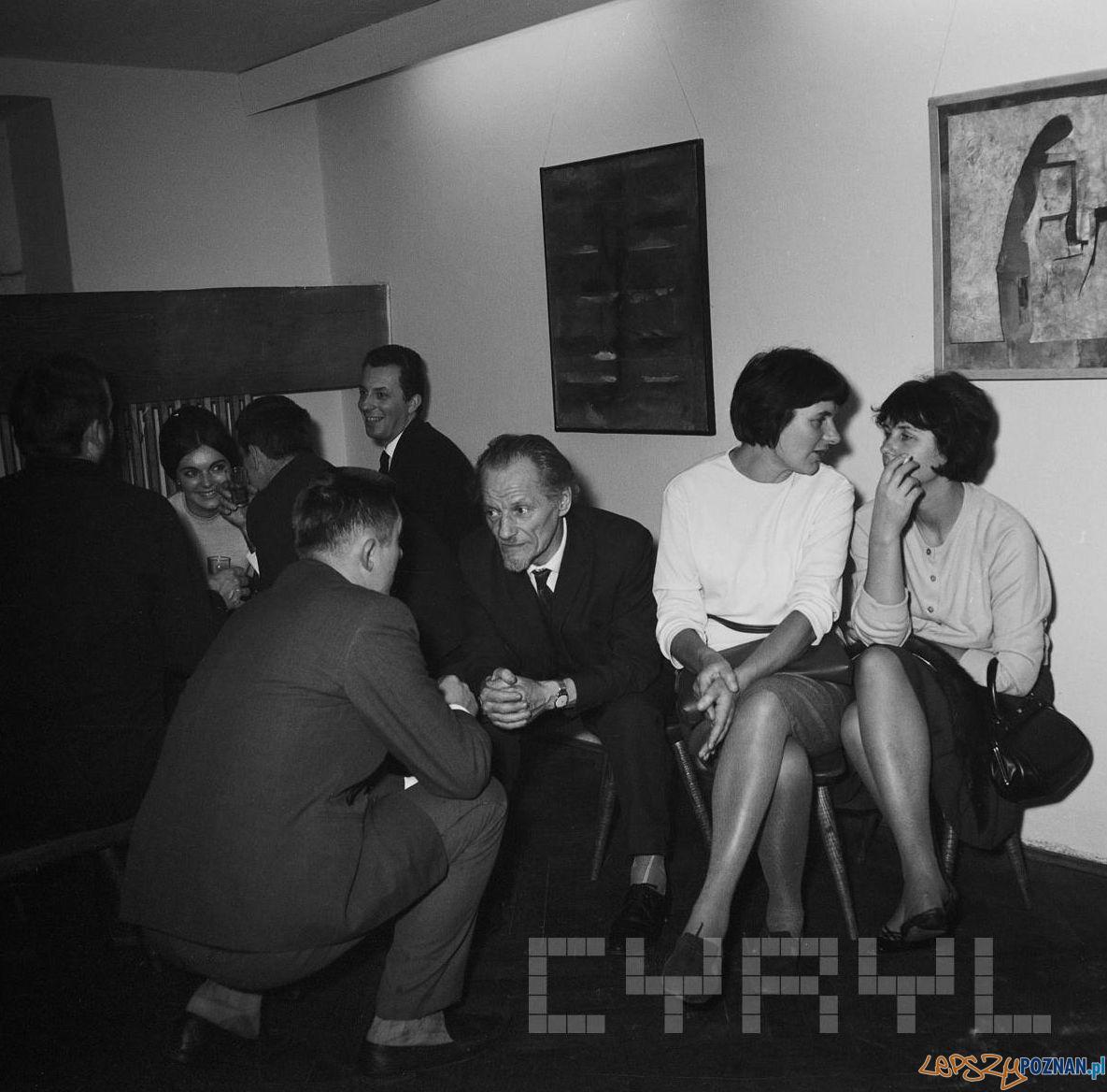 Galeria OdNowa - Tadeusz Kalinowskiz żoną Anną Cyronek 1968  Foto: Jerzy Nowakowski / Cyryl