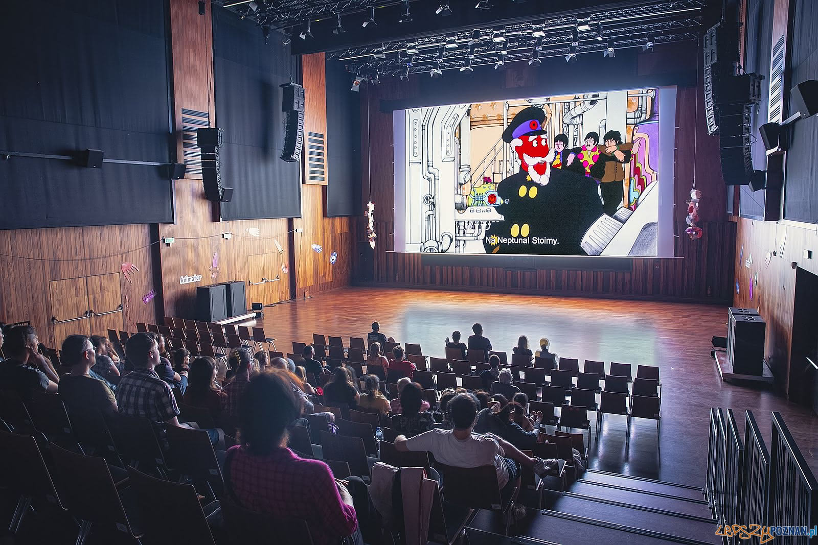 Festiwal Animator - kino w CK Zamek  Foto: Festiwal Animator / materiały prasowe