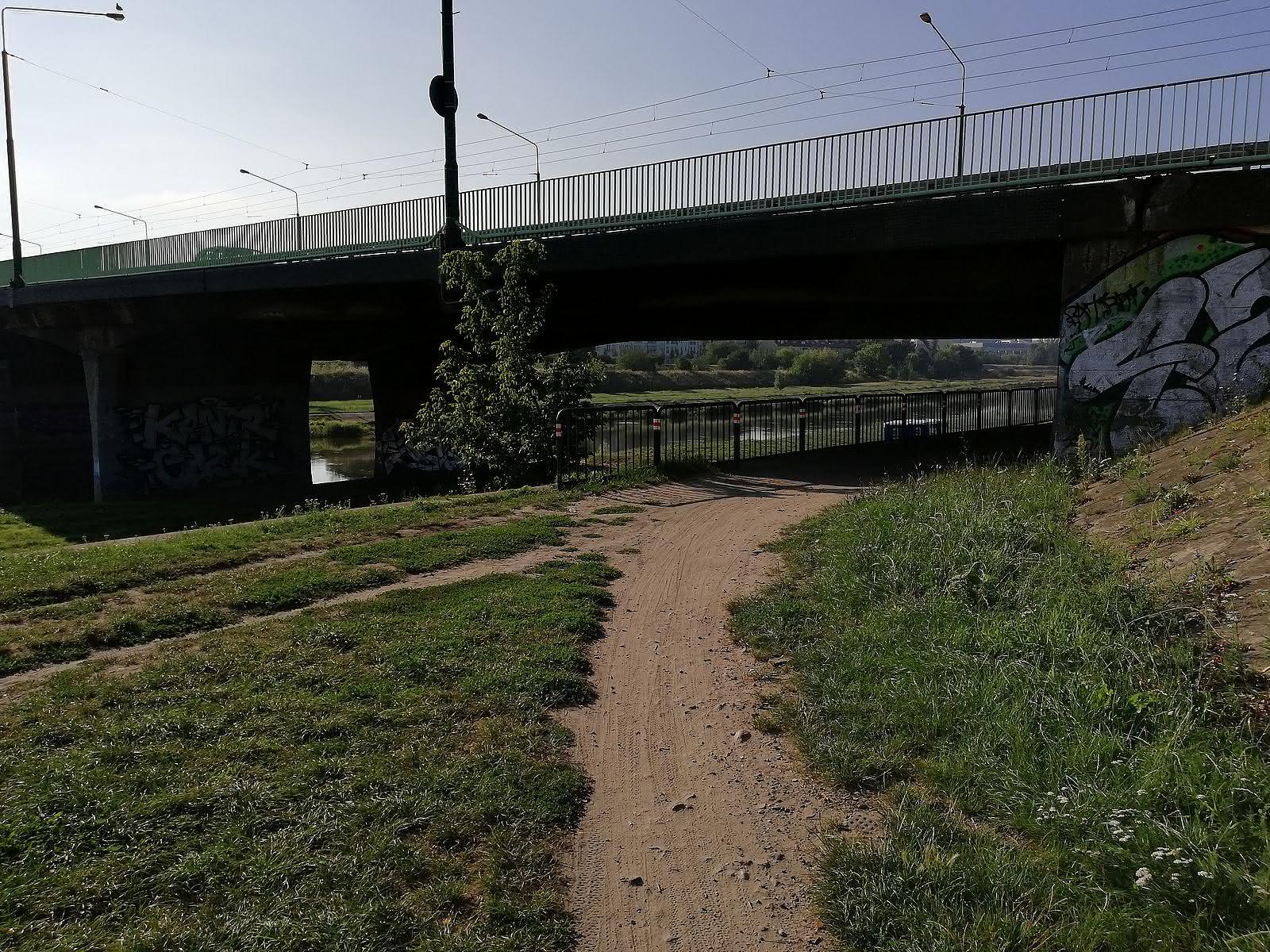 Alternatywa trasa pod Mostem Chrobrego  Foto: