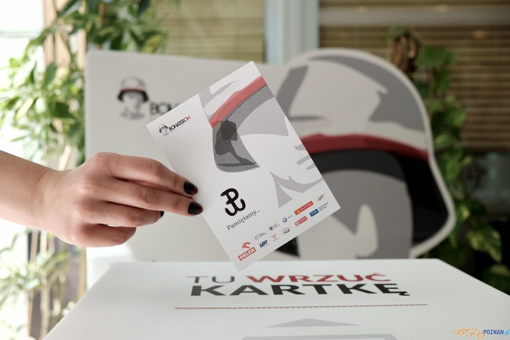 Kartka III edycji kampanii BohaterON  Foto: materiały prasowe / PiotrLitwic.com
