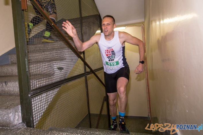IV Bieg po schodach Collegium Altum  Foto: lepszyPOZNAN.pl/Piotr Rychter