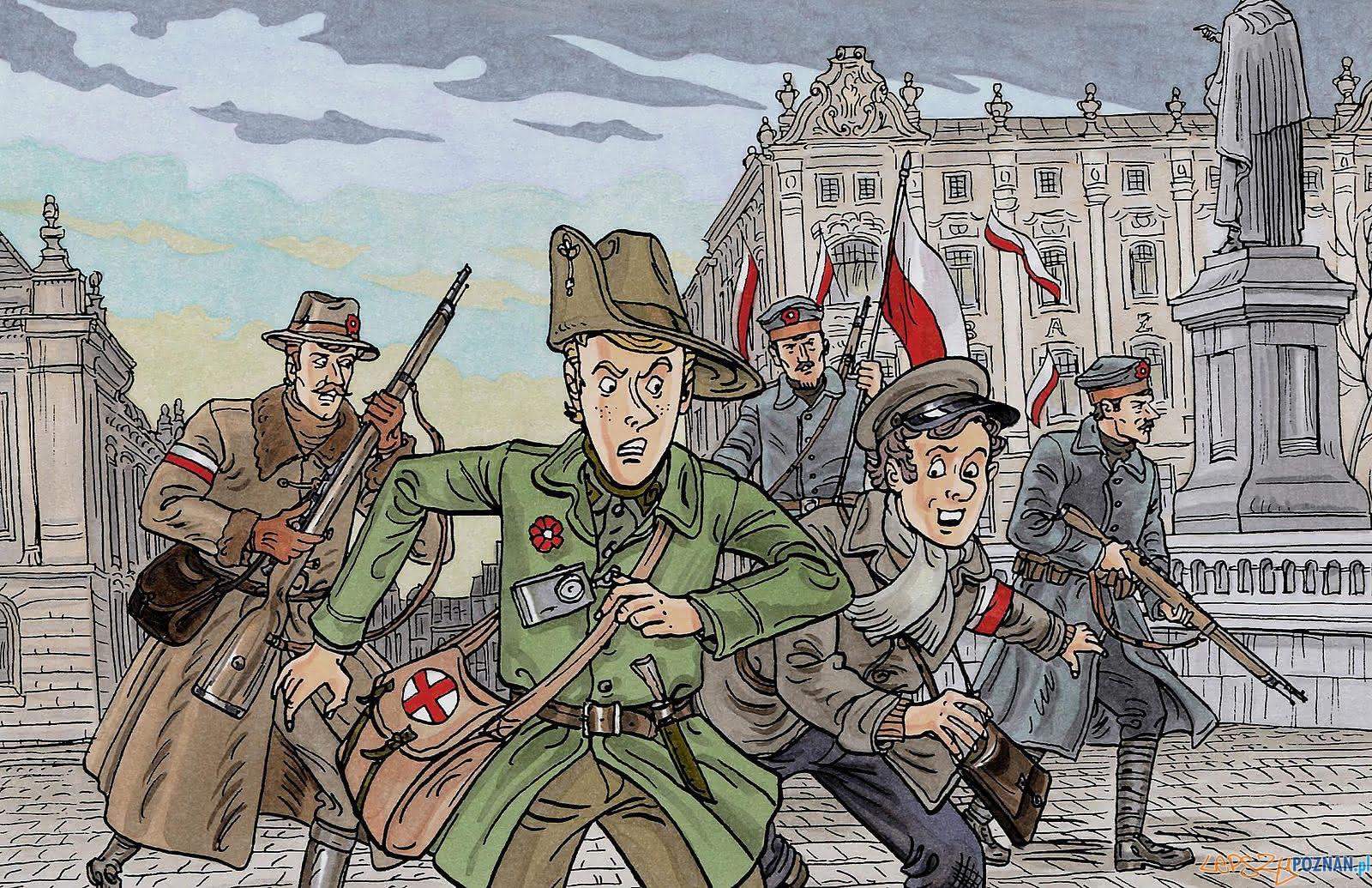 Komiks Dziś powstanie  Foto: materiały prasowe