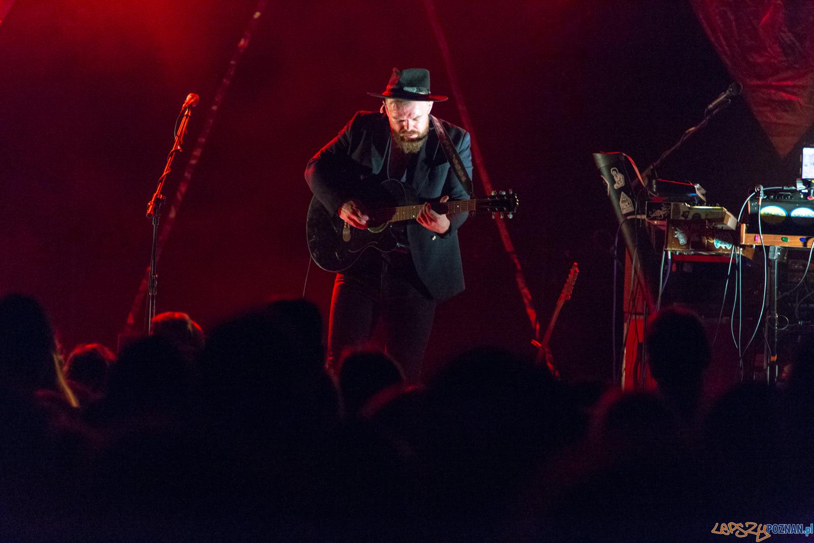 Smolik / Kev Fox w poznańskim klubie TAMA - Poznań 24.11.2018  Foto: LepszyPOZNAN.pl / Paweł Rychter