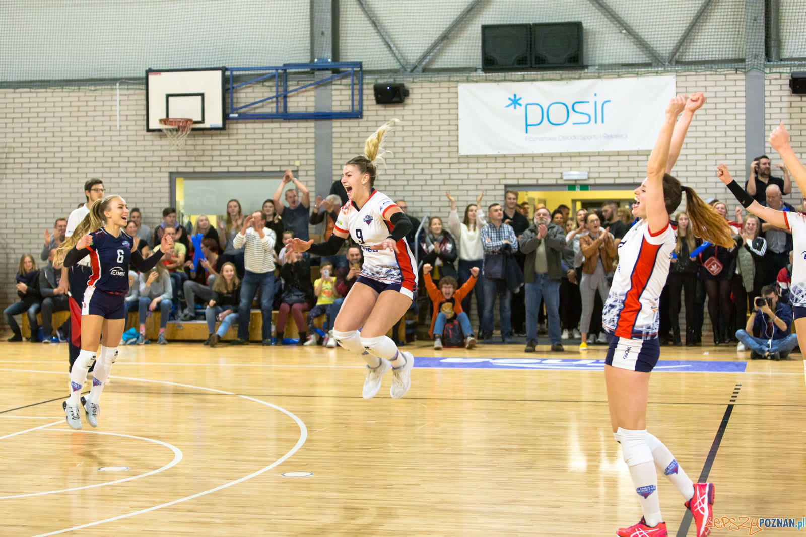 Enea Energetyk Poznań - MKS Dąbrowa Górnicza  Foto: lepszyPOZNAN.pl/Piotr Rychter