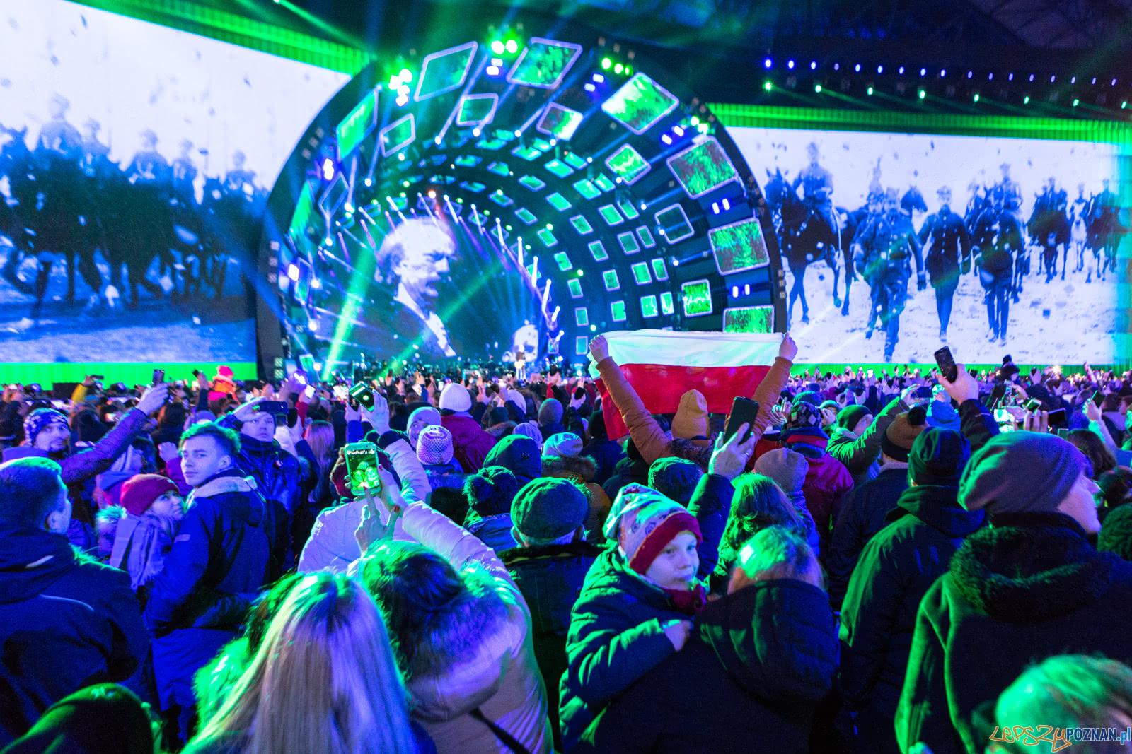 """Koncert """"Muzyka Wolności"""" z okazji 100. rocznicy wybuchu Powsta  Foto: LepszyPOZNAN.pl / Paweł Rychter"""