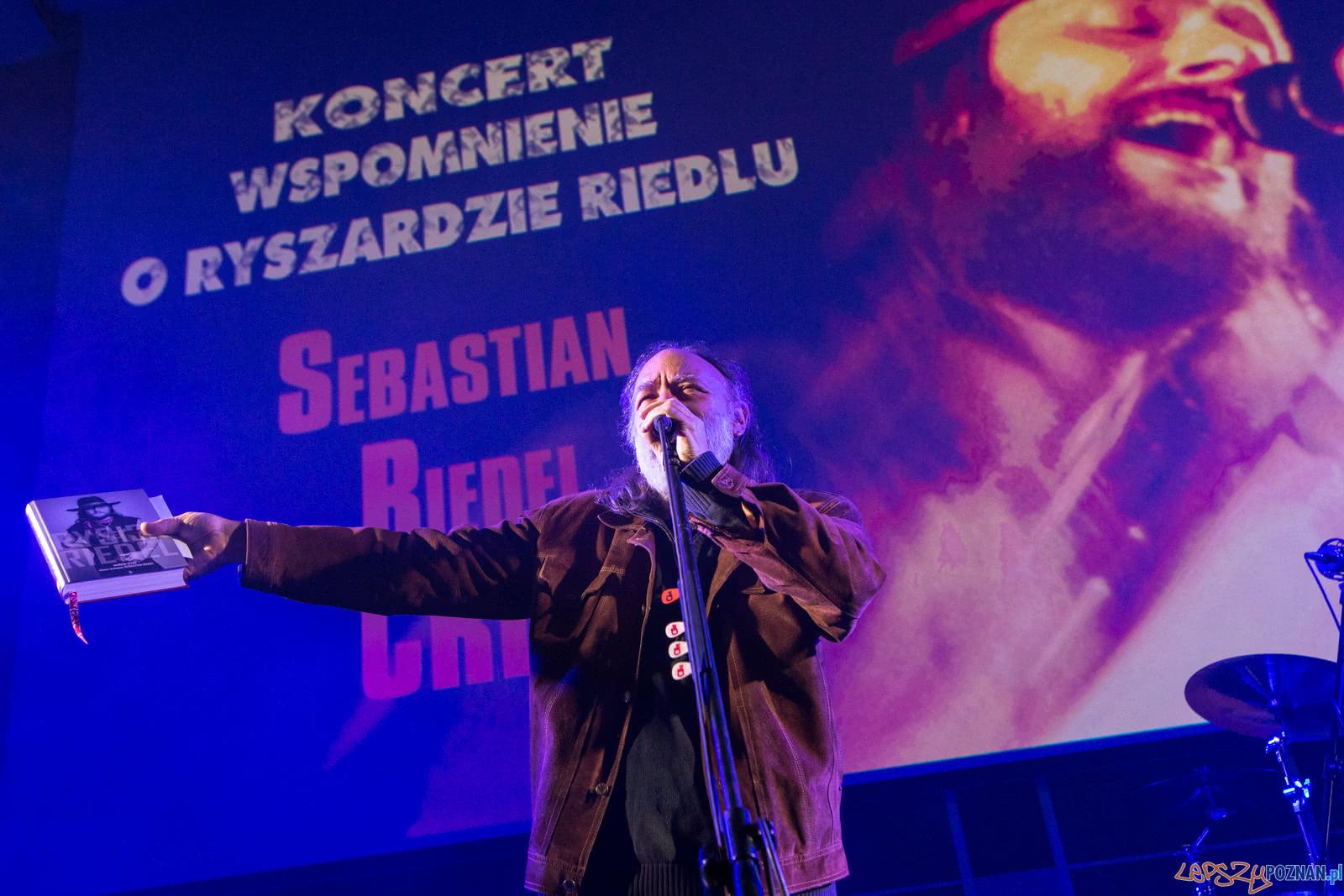 Wspomnienia o Ryszardzie Riedelu: Sebastian Riedel i zespół Cr  Foto: LepszyPOZNAN.pl / Paweł Rychter