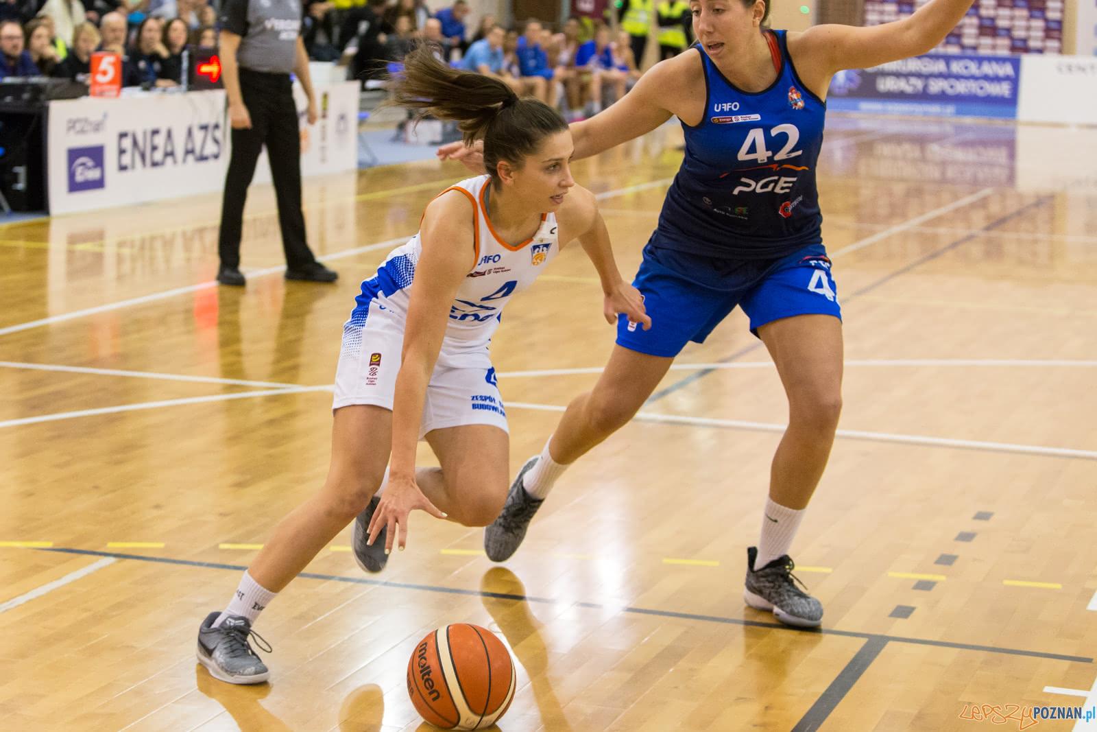 Basket Liga Kobiet: Enea AZS Poznań - PGE MKK Siedlce 85:88 - 0  Foto: LepszyPOZNAN.pl / Paweł Rychter