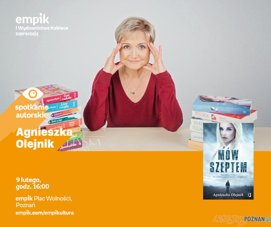 Agnieszka Olejnik - spotkanie autorskie  Foto: materały prasowe