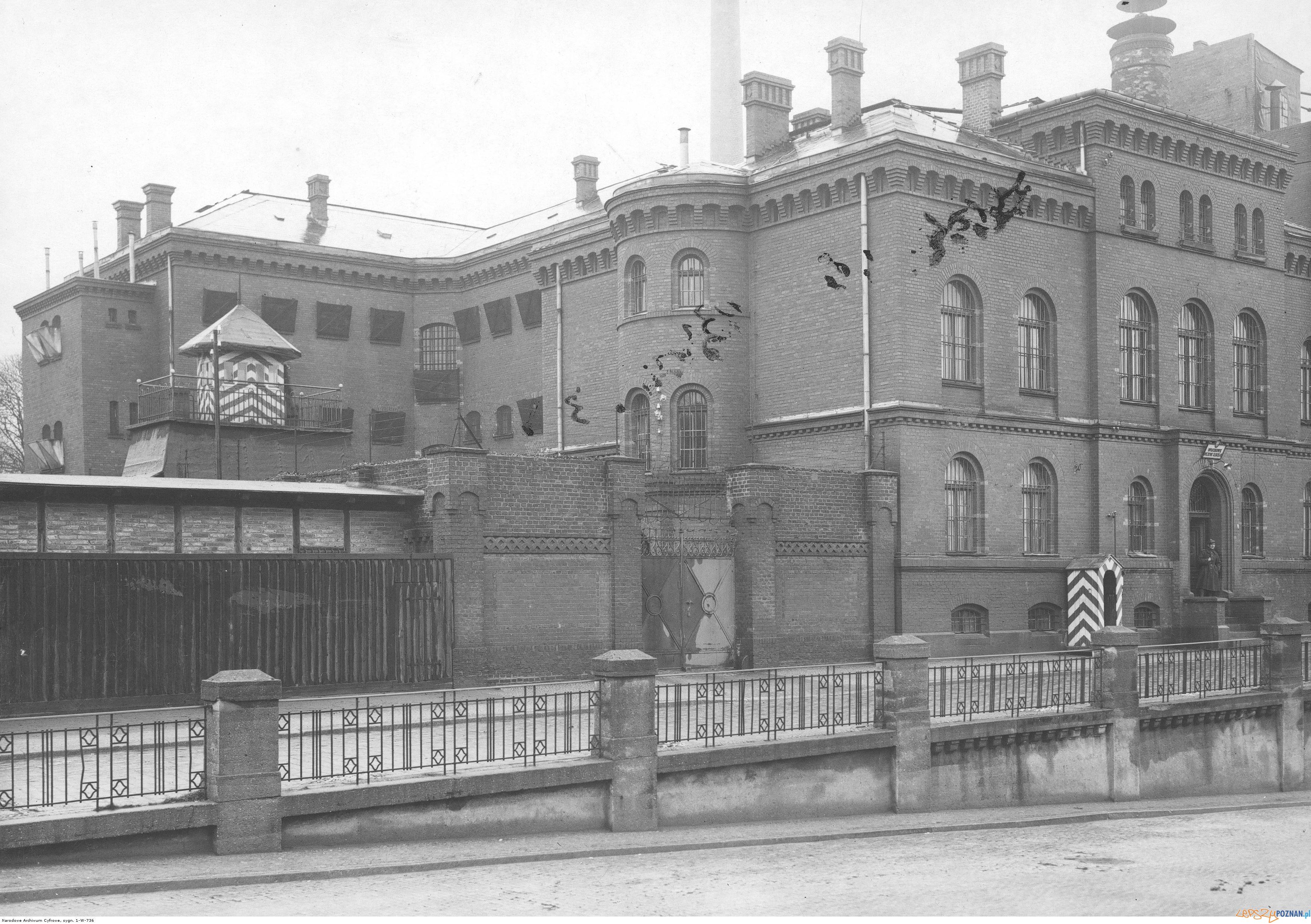 Wojskowe wiezienie sledcze 1931 Kosciuszki  Foto: NAC / IKC / domena publiczna