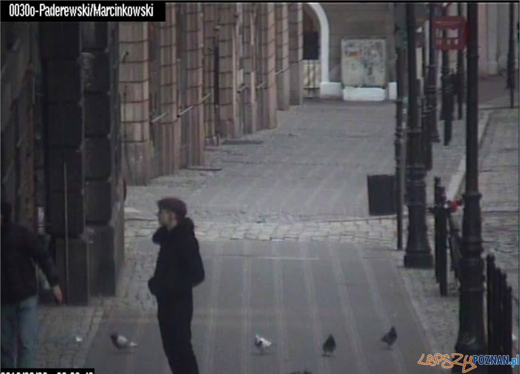 Zatrzymany graficiarz  Foto: materiały prasowe / Straż Miejska