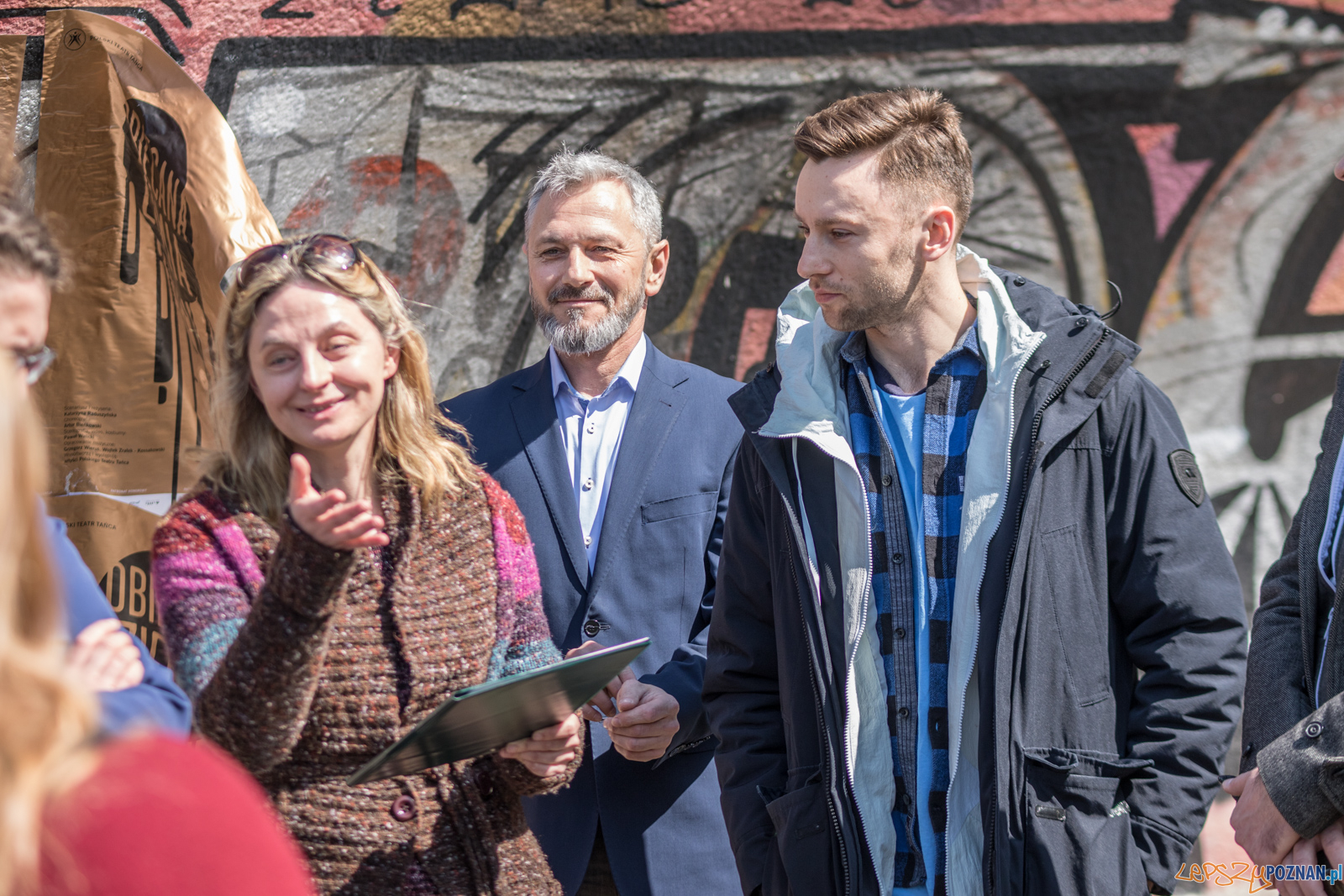 Alterantywna konferencja prasowa PTT  Foto: lepszyPOZNAN.pl / Ewelina Jaśkowiak