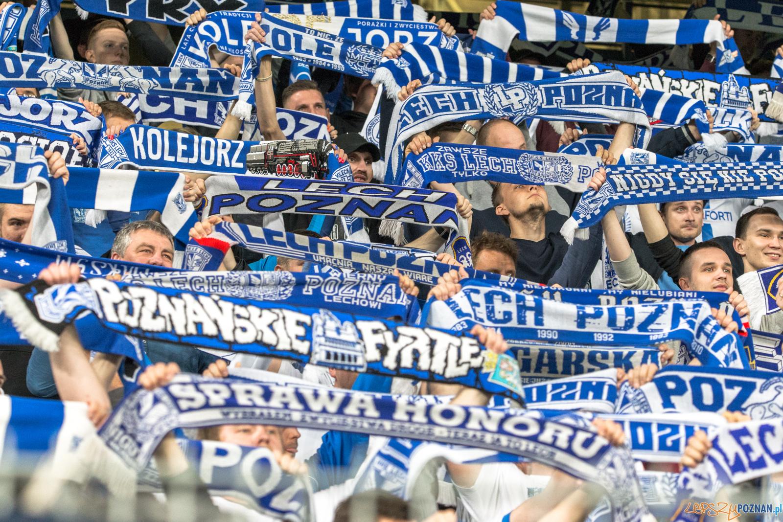 Lech Poznań - Legia Warszawa 1:0 (0:0) - Poznań 24.04.2019 r.  Foto: LepszyPOZNAN.pl / Paweł Rychter