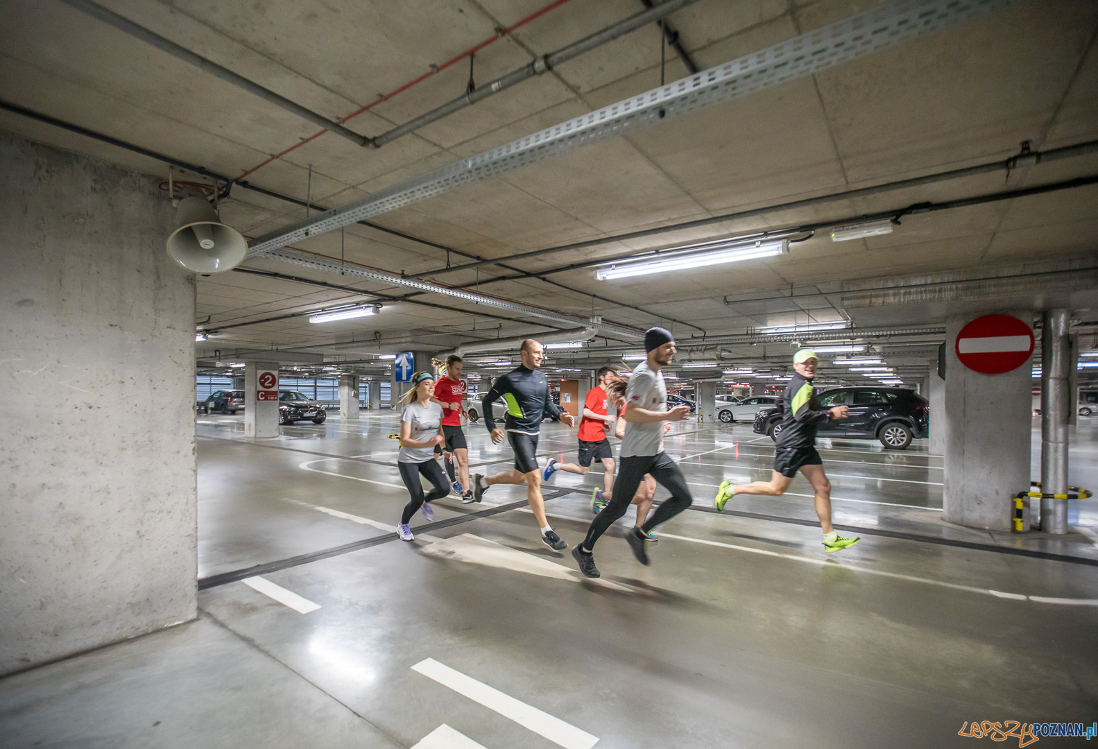 Miejska Mila - bieganie w Starym Browarze  Foto: Jakub Wittchen / materiały prasowe