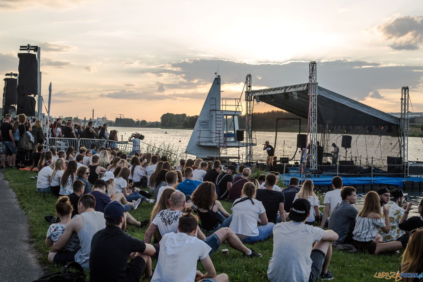 Na Falach - Koncert nad Maltą 2018  Foto: POSiR