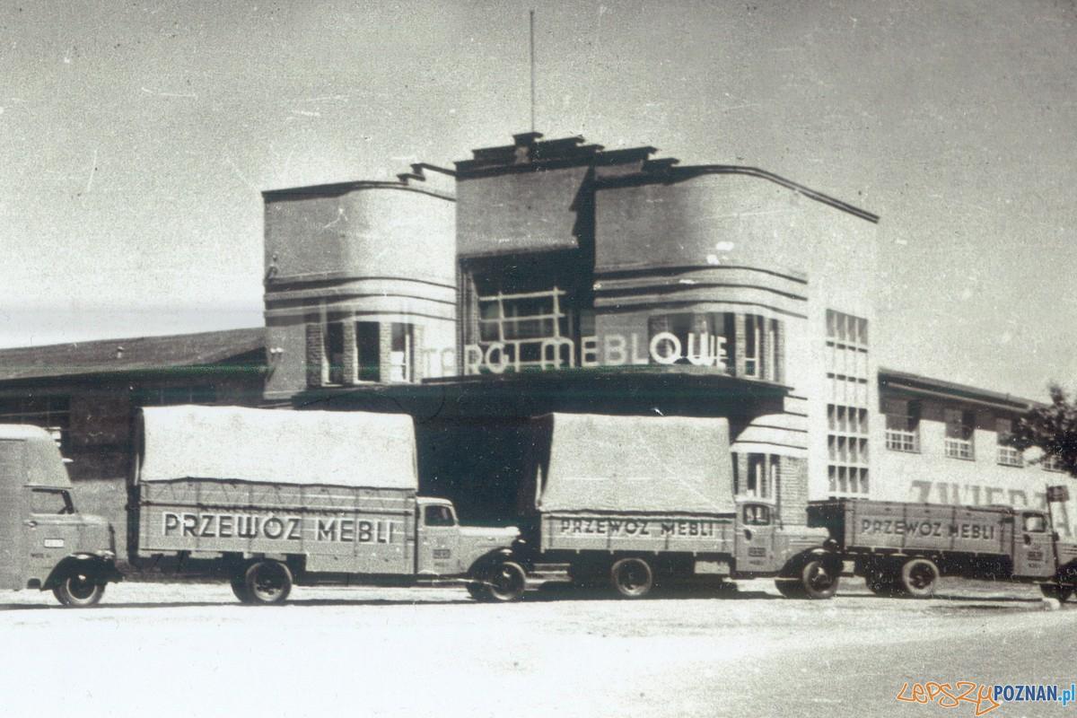 RzemieШlniczy Pawilon Meblowy w czasie Targвw Meblowych (1938 r.)(fot. Archiwum Swarzйdzkiego Cechu Meblowego)  Foto: materiały prasowe PLOT