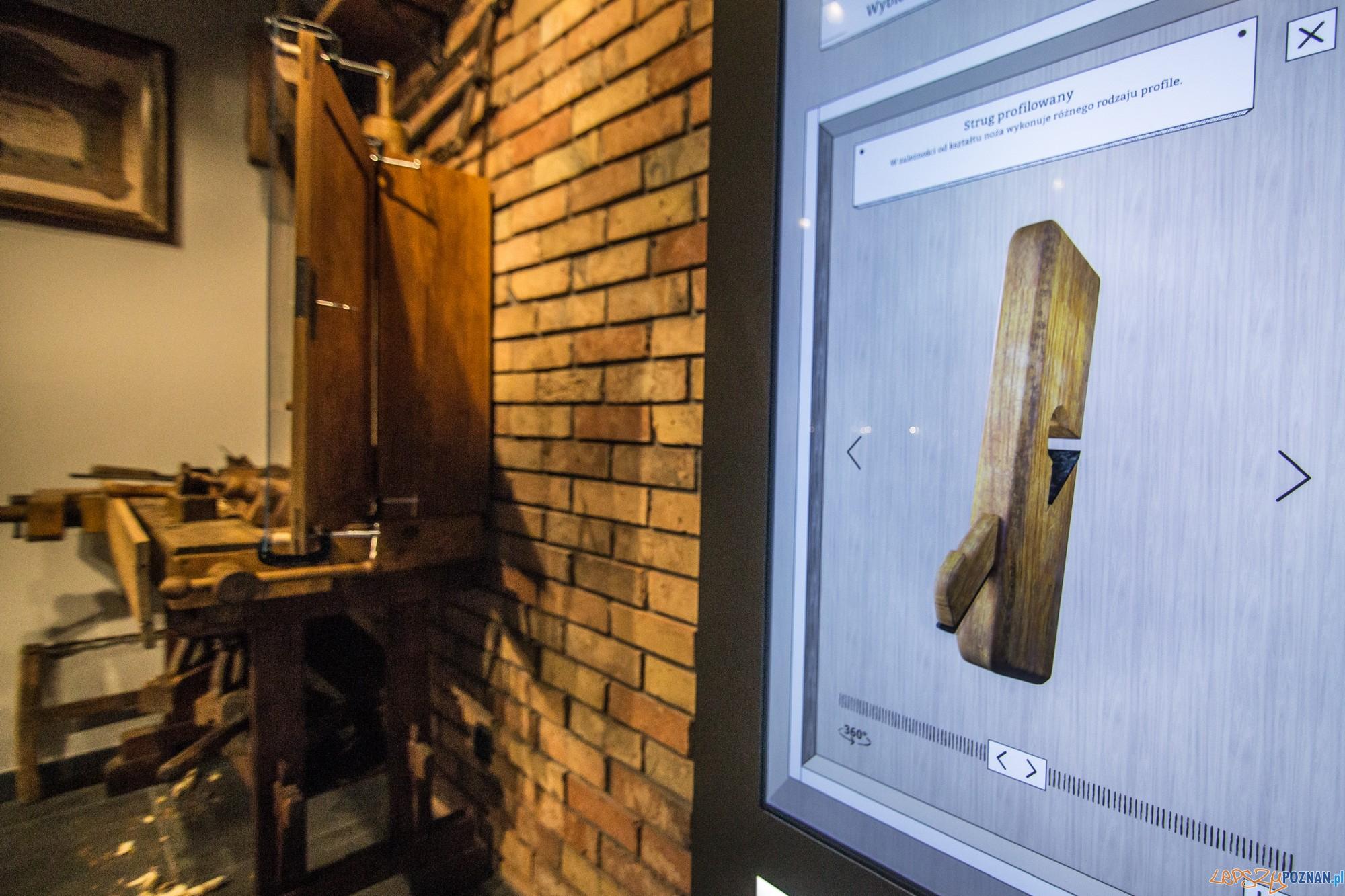 Ekspozycja stolarska Swarzйdzkiego Centrum Historii i Sztuki (fot. Jakub Pindych PLOT)  Foto: materiały prasowe PLOT