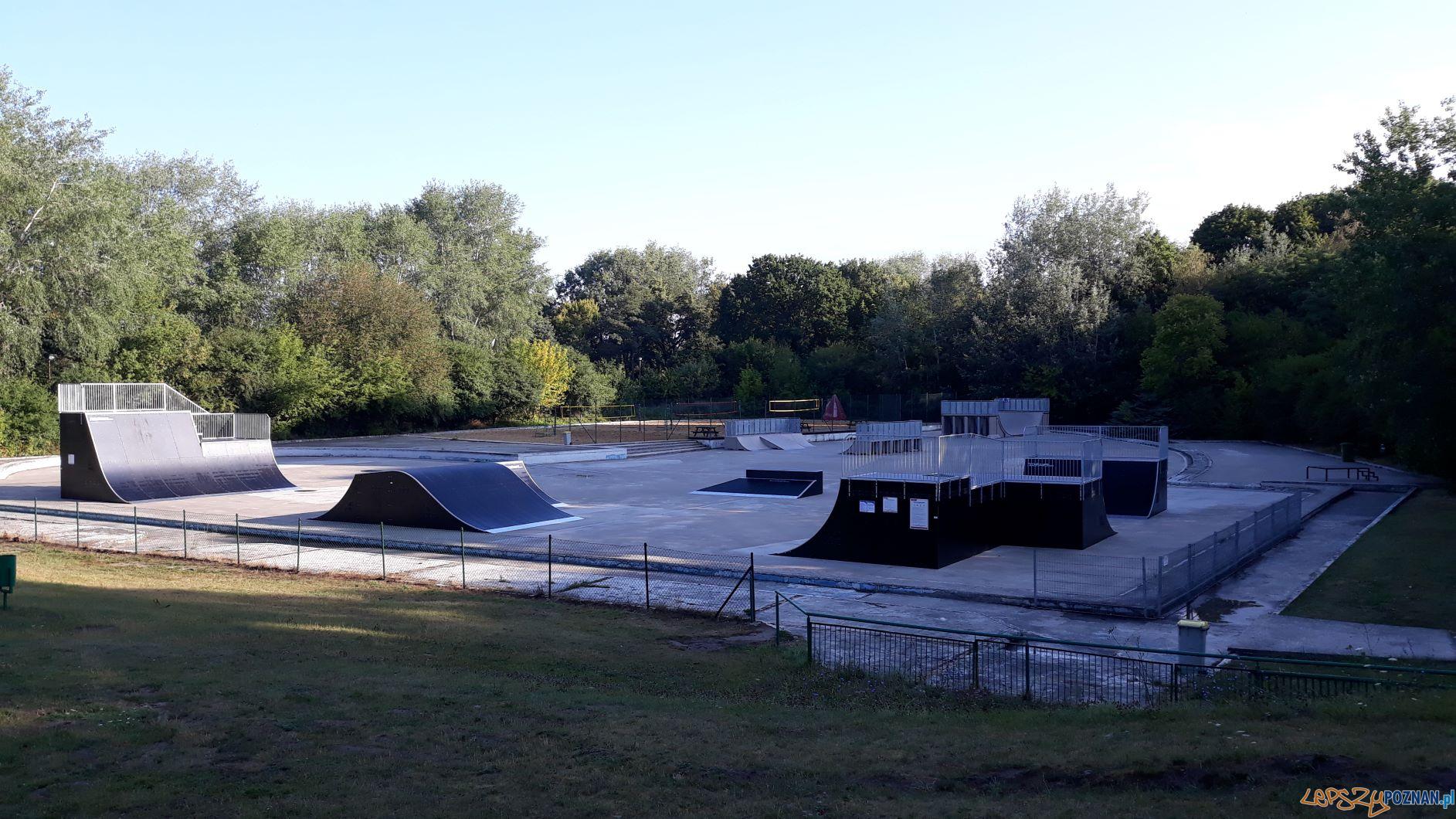 Wyremontowany skatepark na os. Piatowskim  Foto: materiału prasowe/ UMP