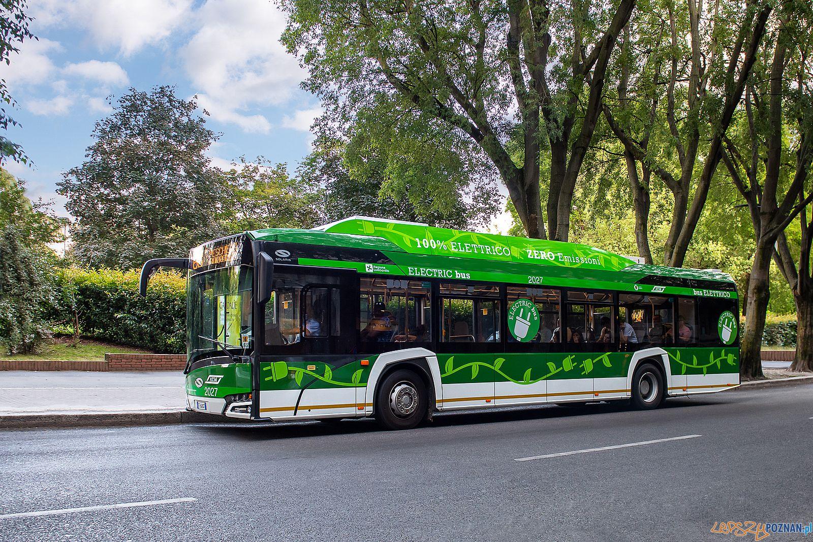 Autobus Solaris Urbino 12 electric  Foto: Maciej Sznek / Solaris - materiały prasowe
