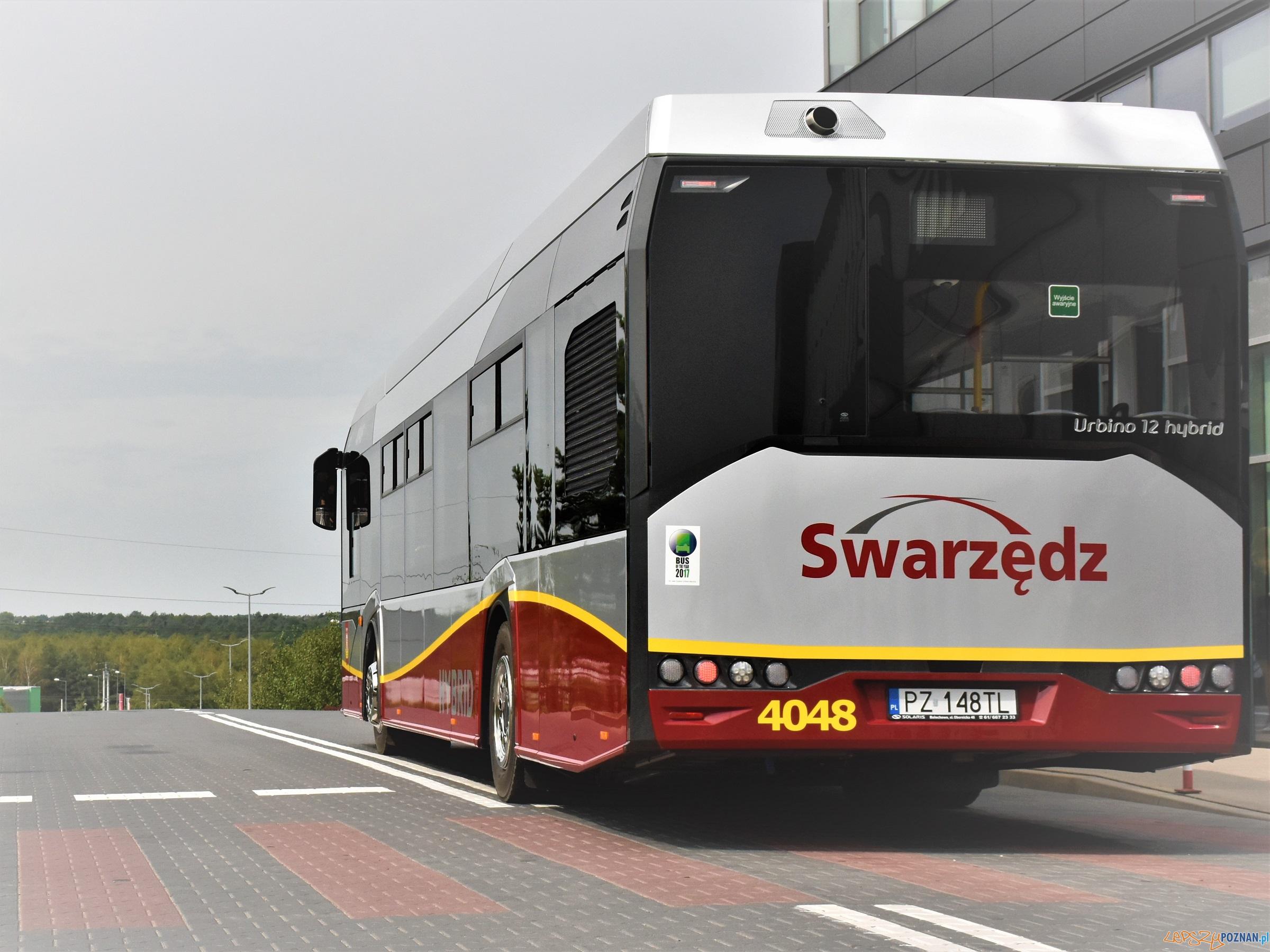 Nowe autobusy na ulicach Swarzędza  Foto: T.Rybarczyk