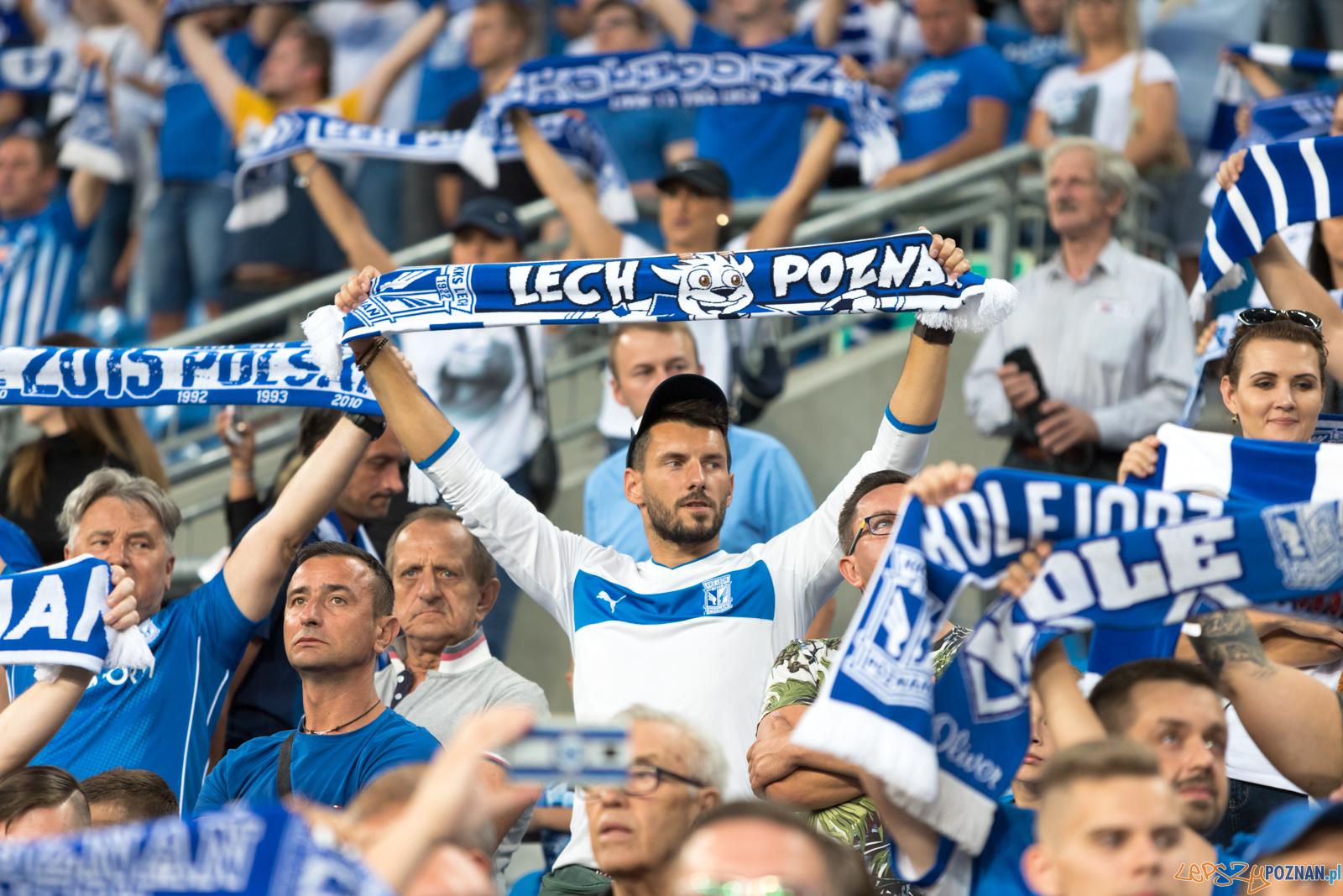 Lech Poznań - Śląśk Wrocław (najlepsi kibice na świecie)  Foto: lepszyPOZNAN.pl/Piotr Rychter