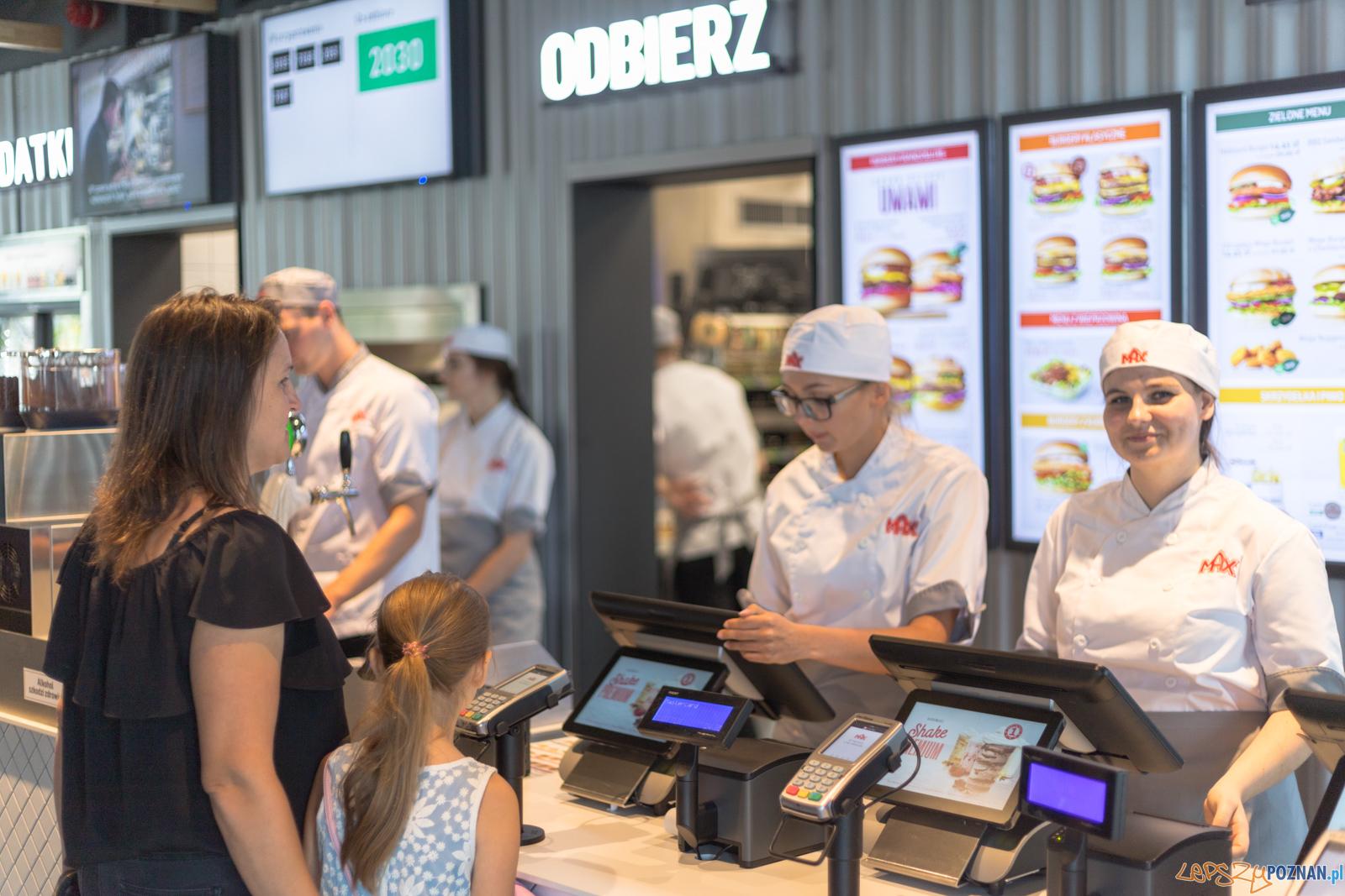 MAX Premium Burgers w Poznaniu  Foto: lepszyPOZNAN.pl/Piotr Rychter