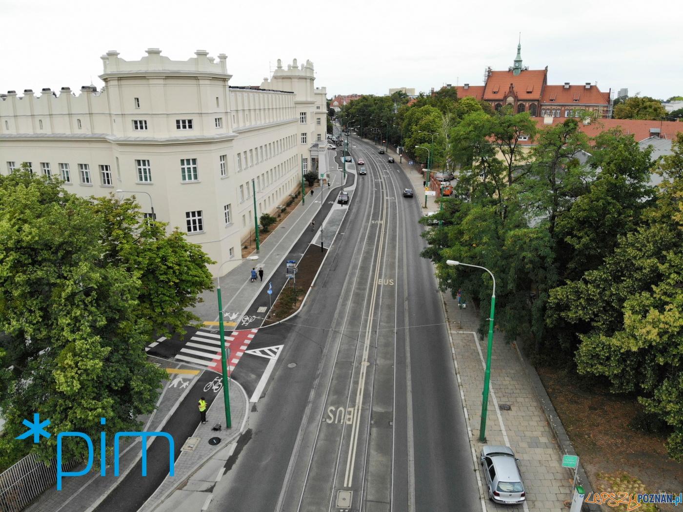 Trasa rowerowa wzdłuż Grunwaldzkiej  Foto: materiały prasowe / PIM
