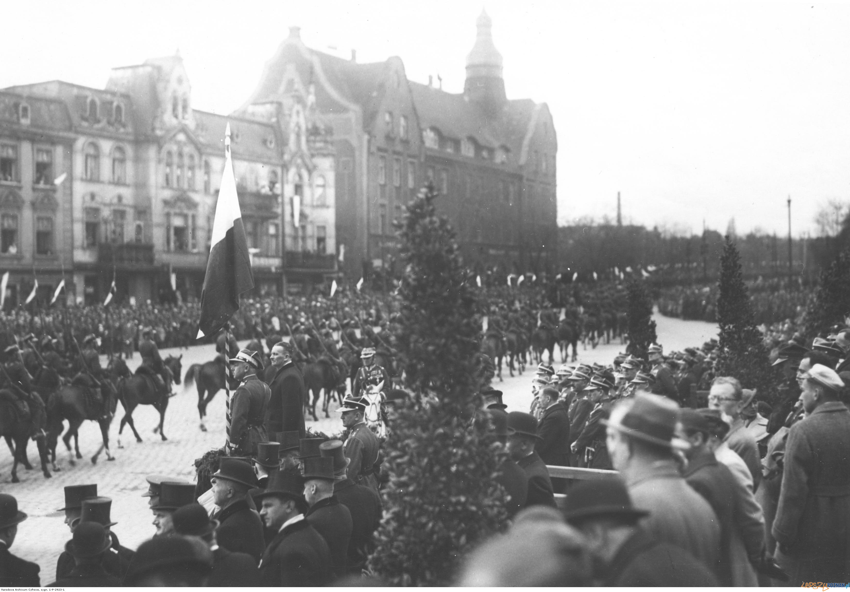 Św. Marcin - Wjazdowa 1935  Foto: Narodowe Archiwum Cyfrowe