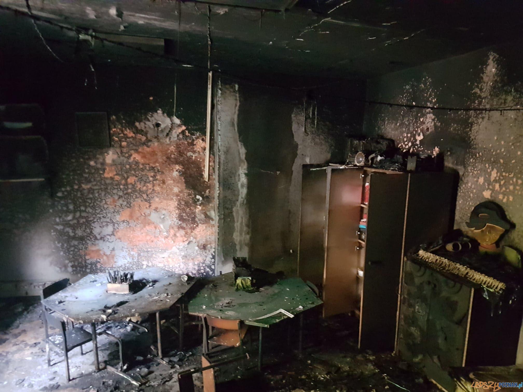 Pożar w przedszkolu Jak U Mamy  Foto: facebook.com/Przedszkole-Jak-U-Mamy